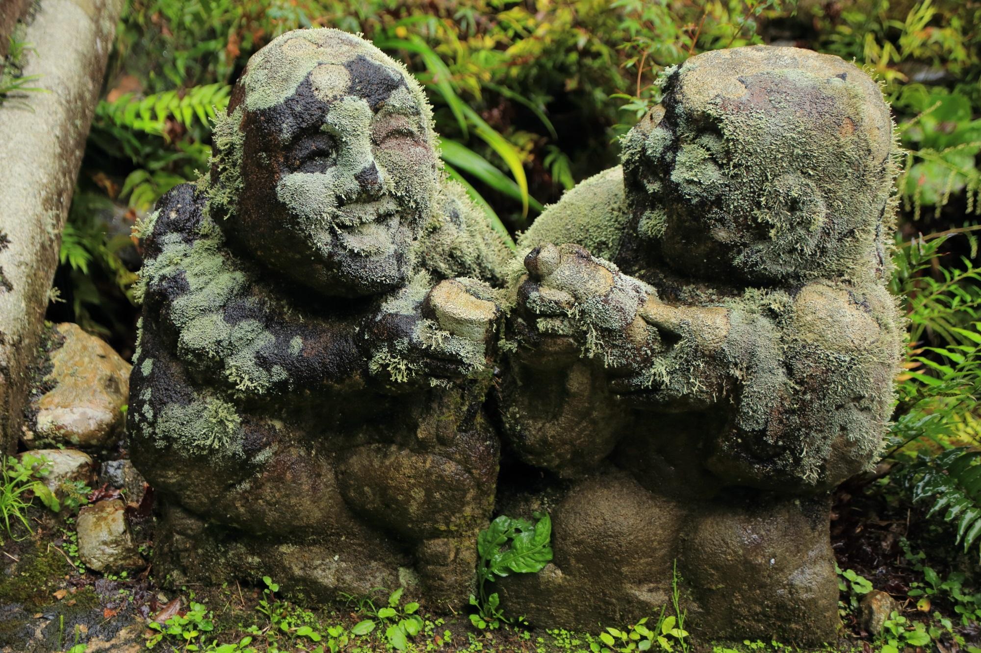 愛宕念仏寺の晩酌の千二百羅漢