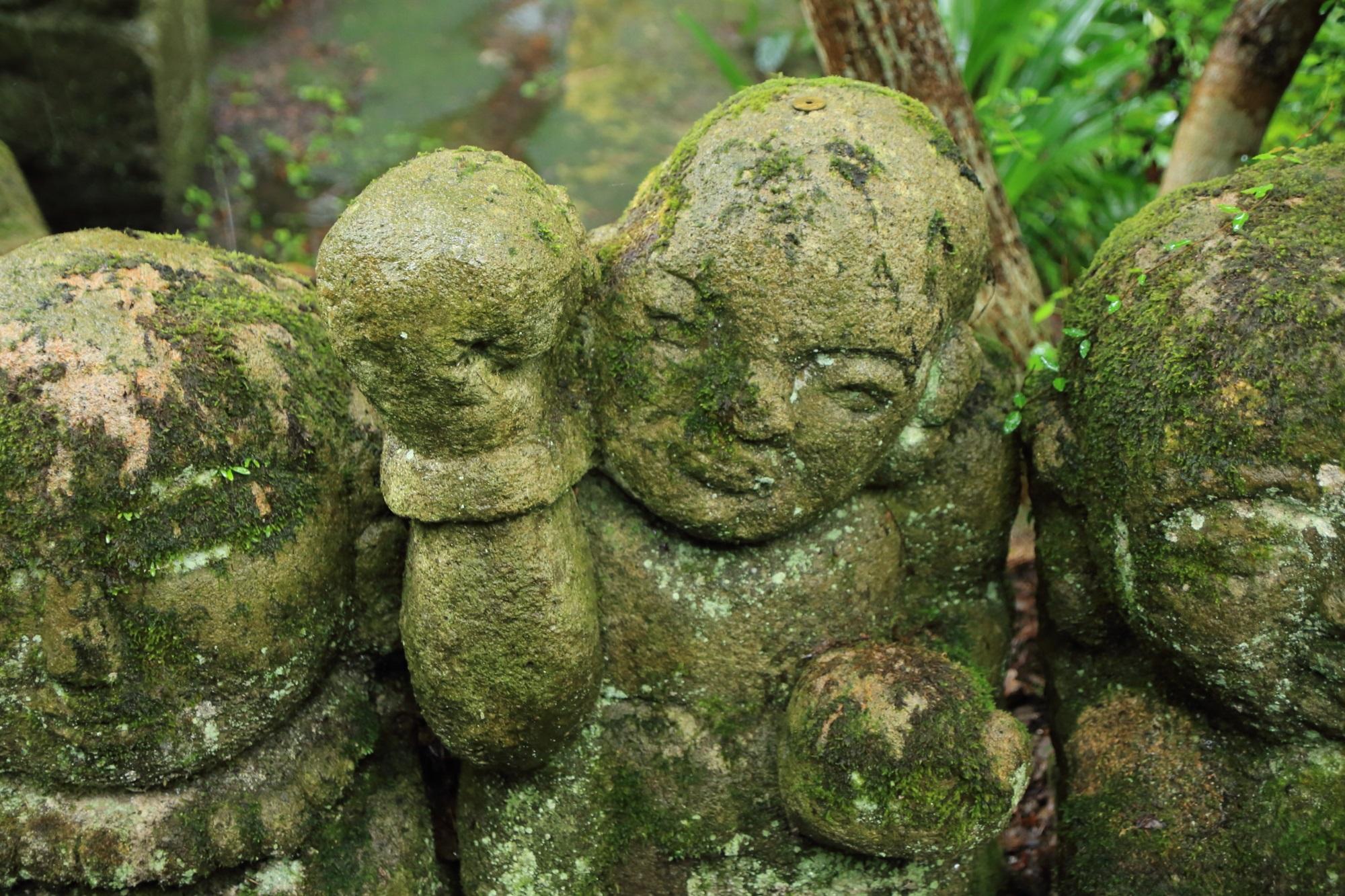 愛宕念仏寺のボクサーの千二百羅漢