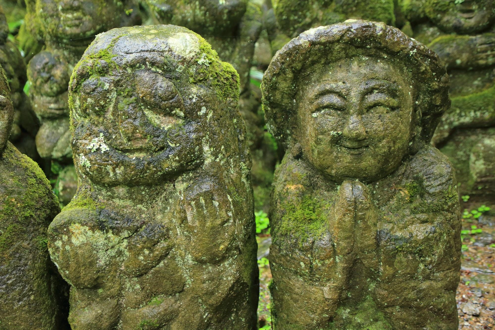 愛宕念仏寺のおばあちゃんの千二百羅漢
