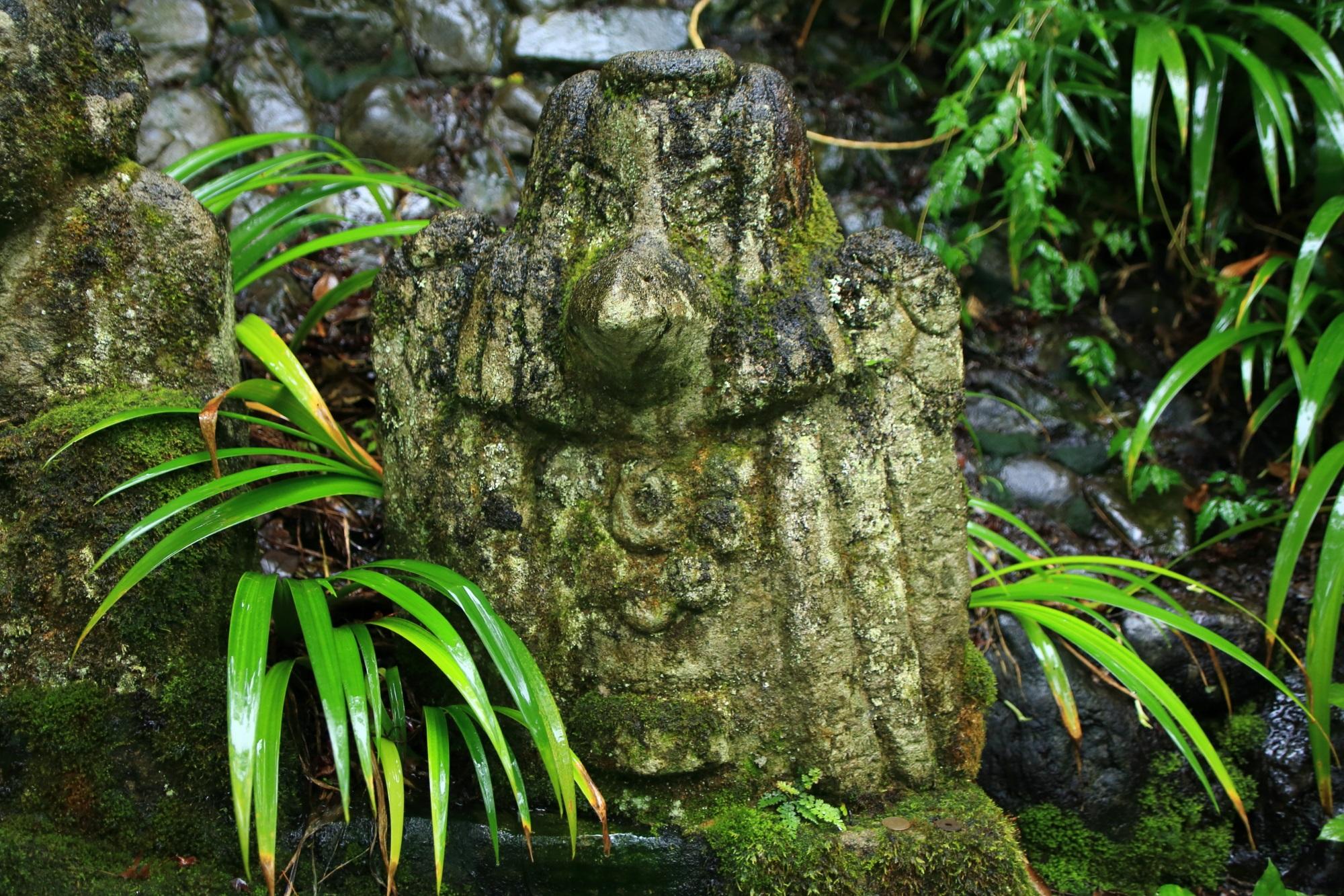 愛宕念仏寺のカラス天狗の千二百羅漢