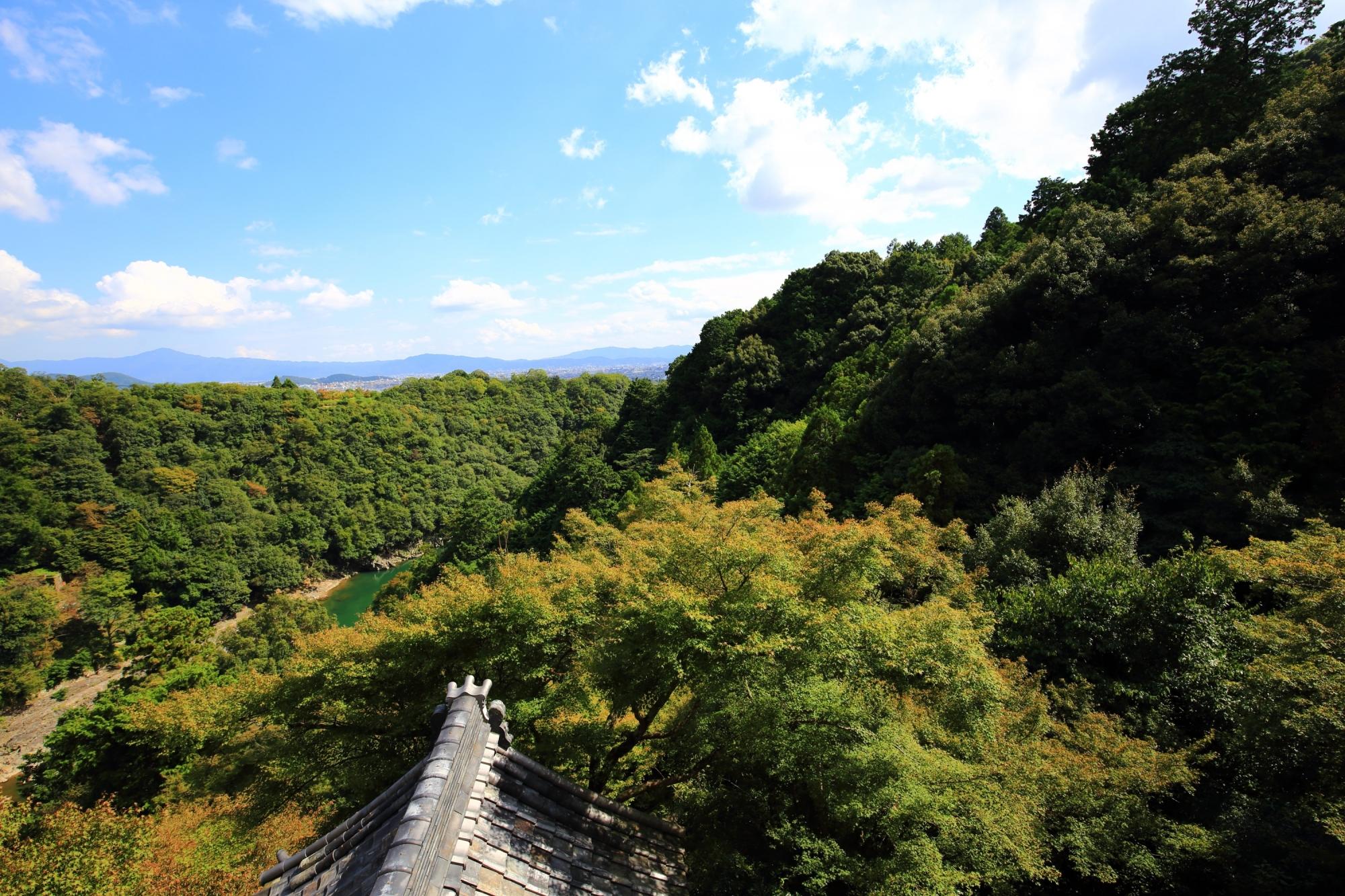 嵐山大悲閣 千光寺から眺める絶景 2015年10月6日