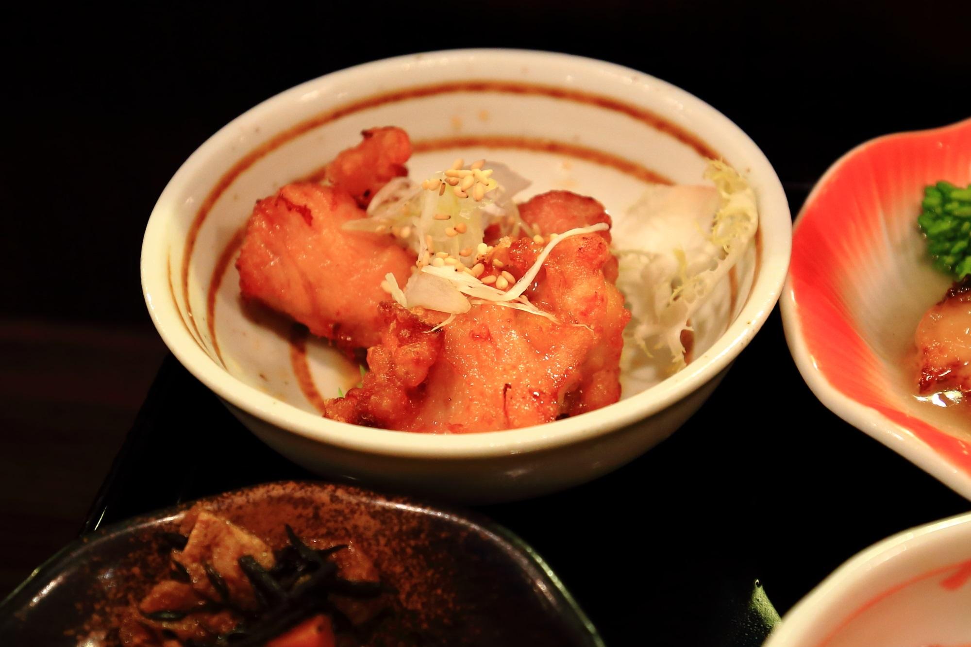 京町屋のおくどはんの和食ランチの美味しいおばんざい