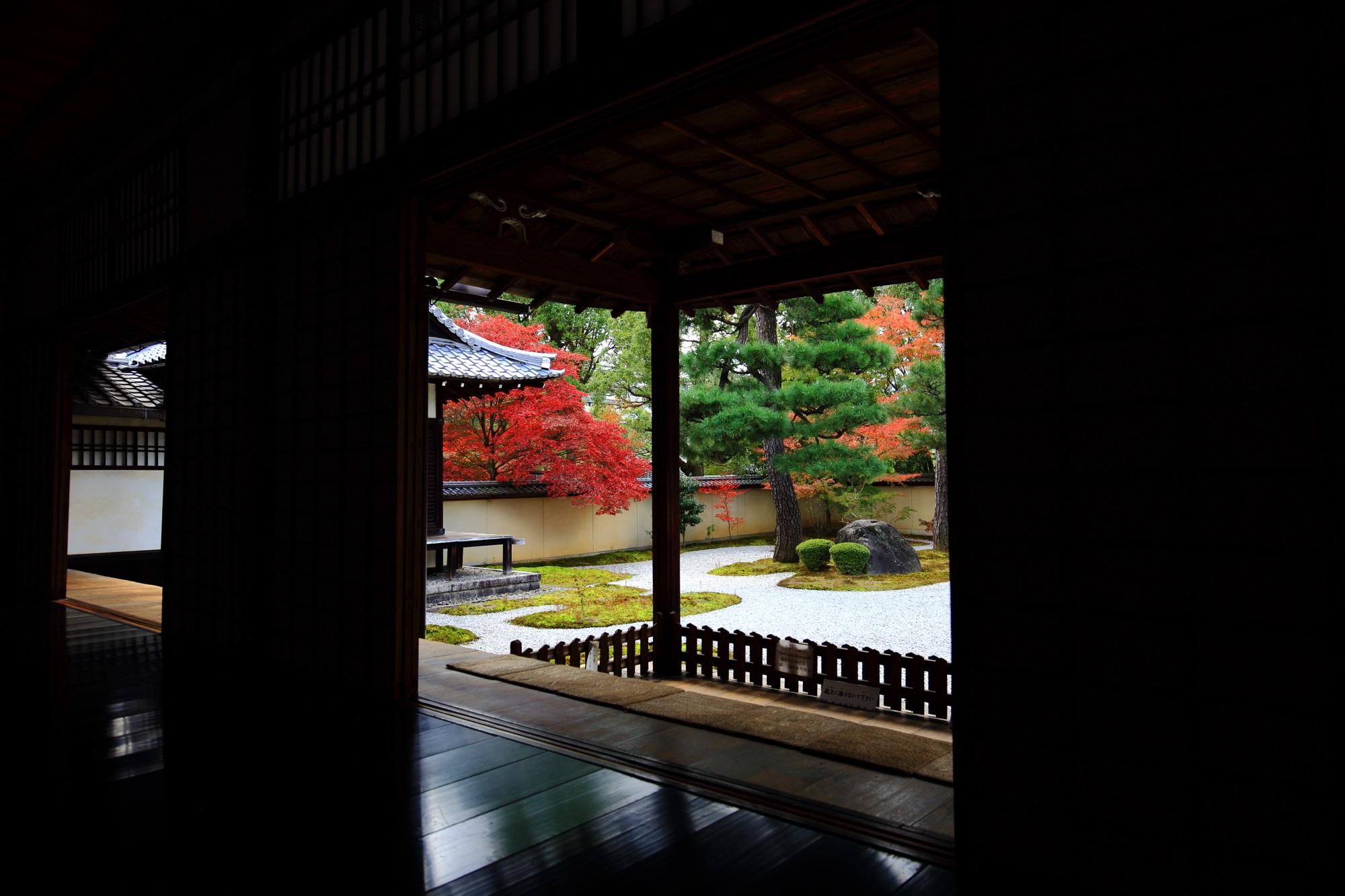 様々な見方ができる廬山寺の源氏庭