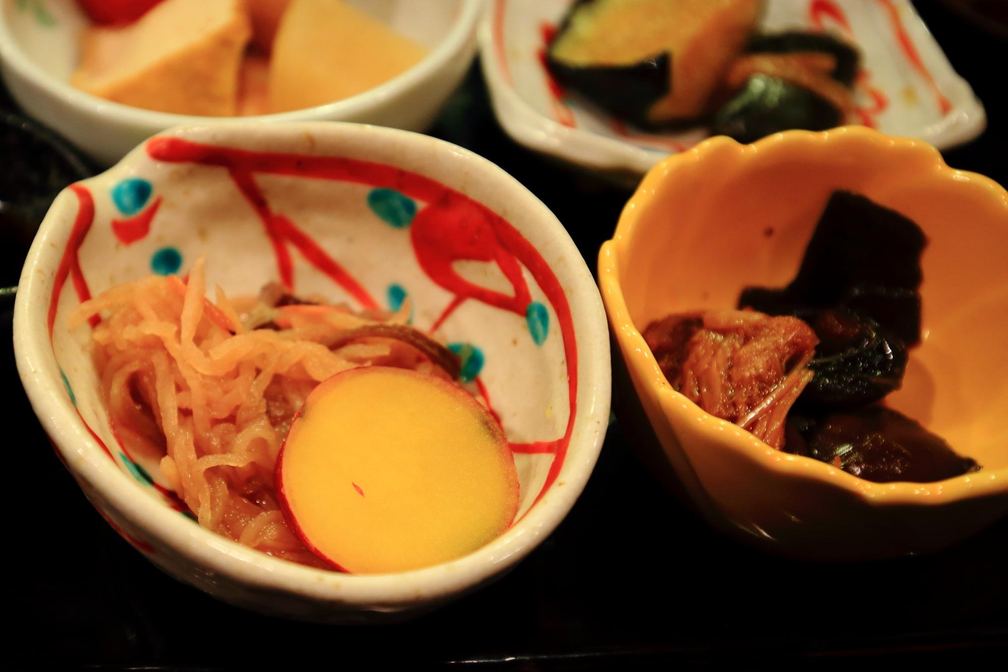 おくどはん御幸町の美味しい京野菜のおばんざい