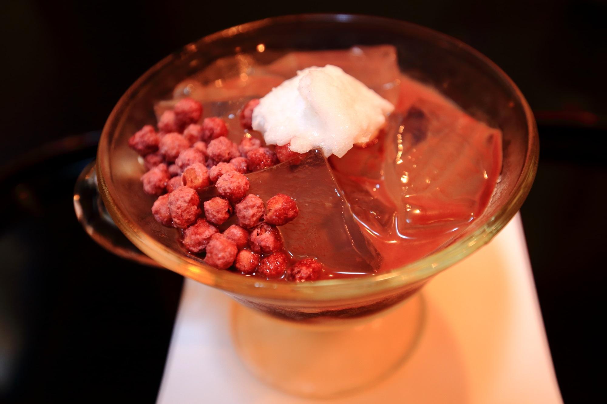 Kohaku-Nagashi February Cocoa taste Kyoto Seien Sweets