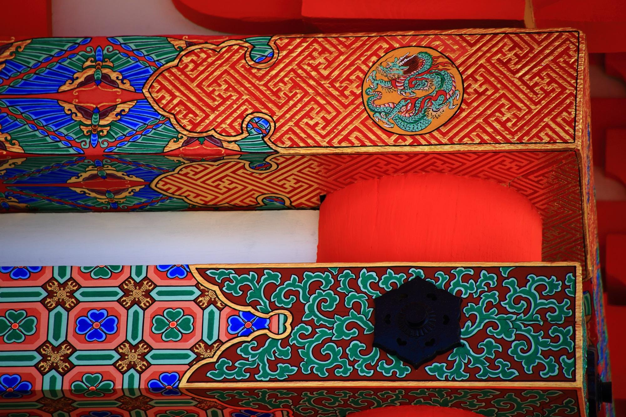 清水寺 三重塔 装飾 綺麗
