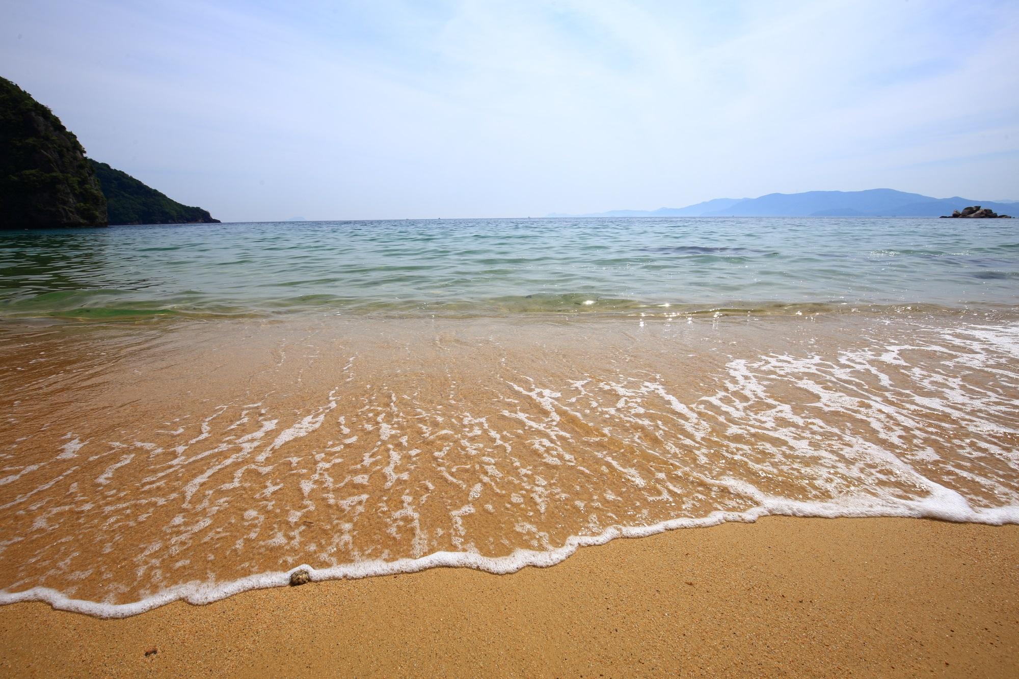 おっぱま海岸 秘境 宮津 綺麗