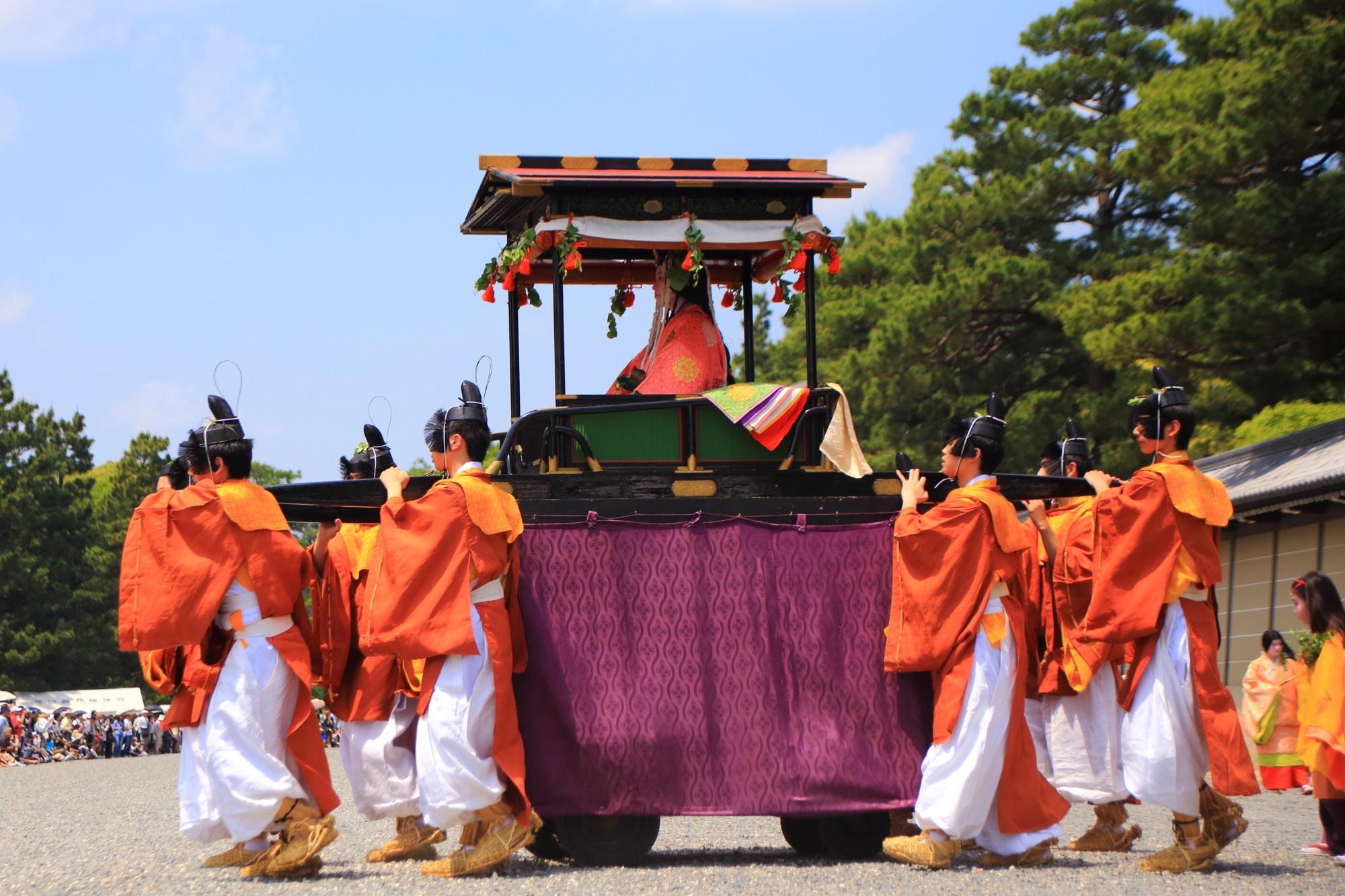斎王代 葵祭