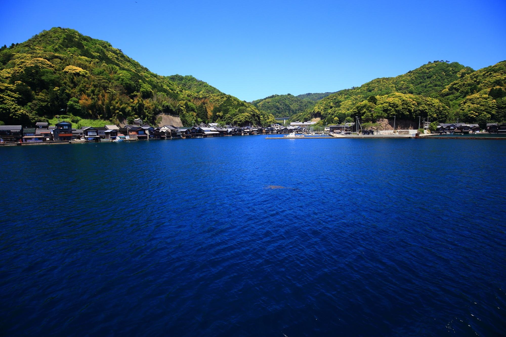 伊根の舟屋や伊根湾の素晴らしすぎる情景に感謝