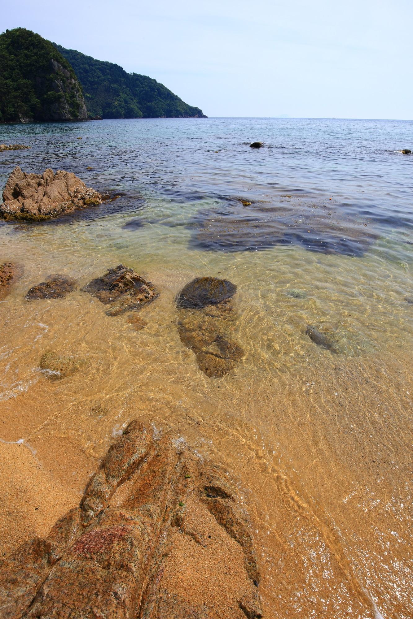 高画質 おっぱま海岸 海 宮津 綺麗