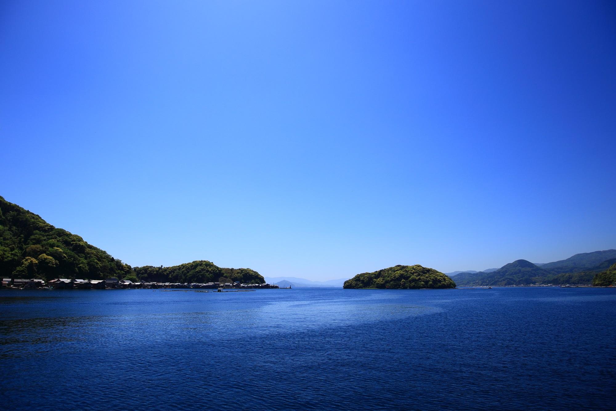 高画質 伊根の舟屋 絶景 写真