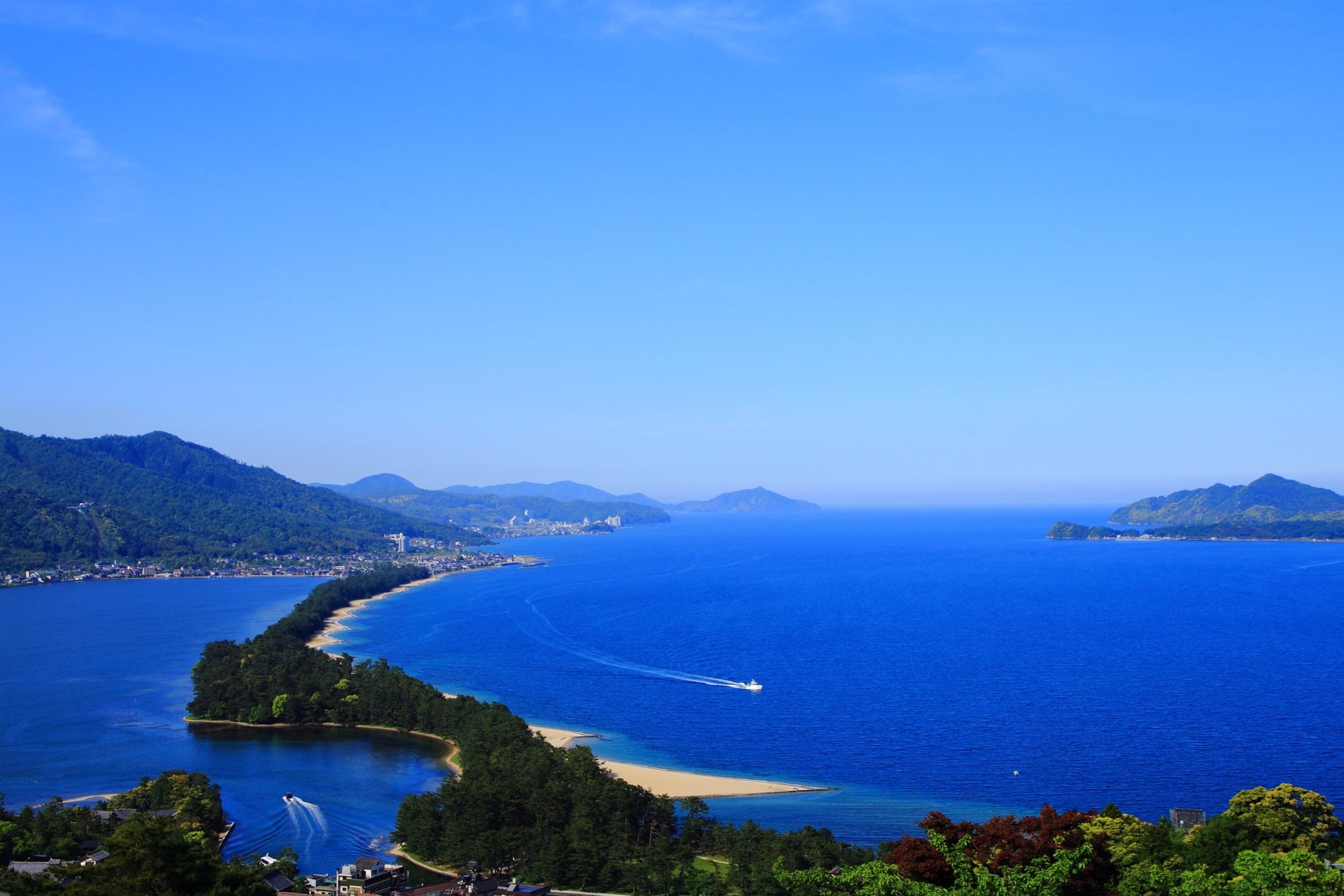 天橋立 飛龍観 ビューランドから眺める日本三景