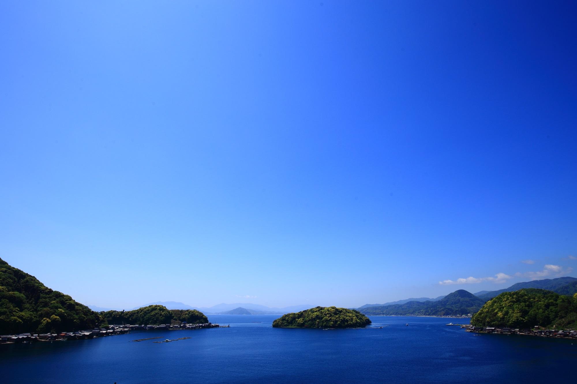 今後はもっと発展していくと思われる海の京都の伊根湾