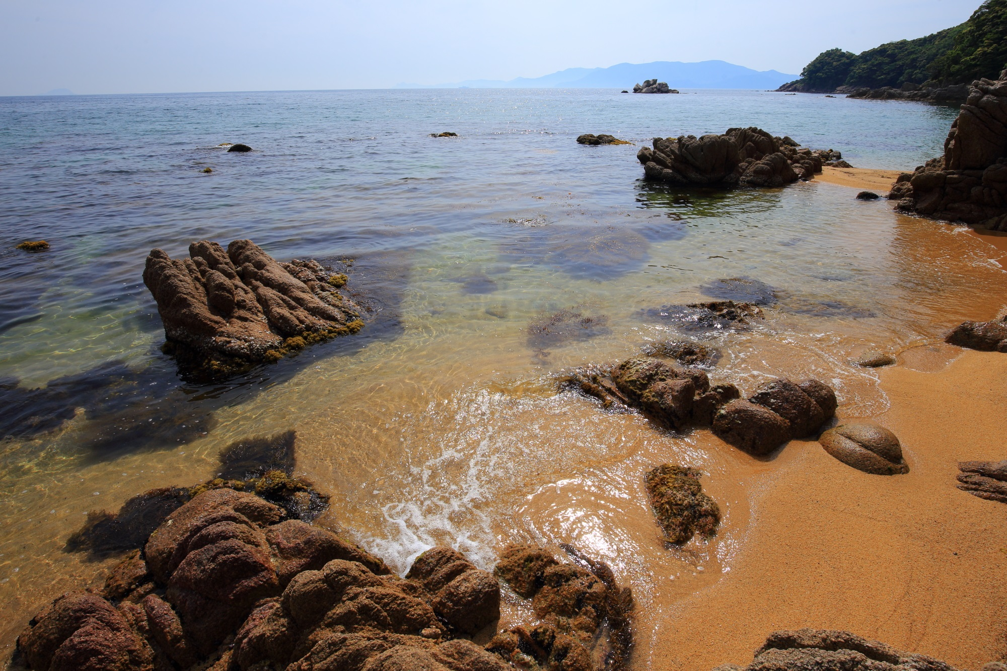 越浜海岸 綺麗 宮津 秘境