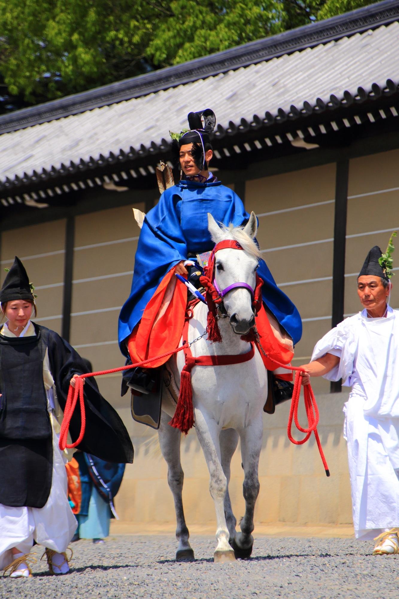 京都三大祭の一つの葵祭(あおいまつり)