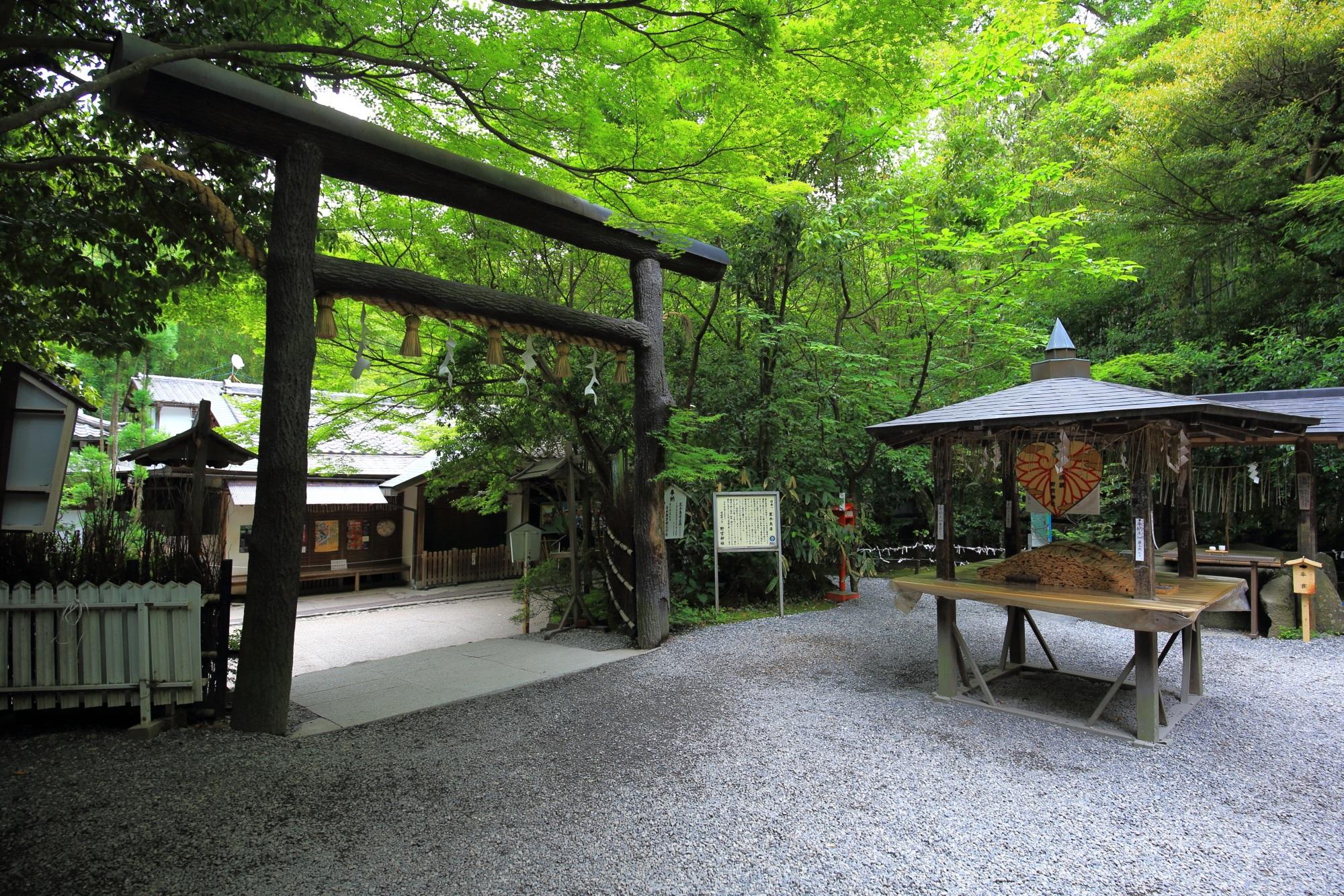Kyoto Sagano Nonomiya-jinja shrine
