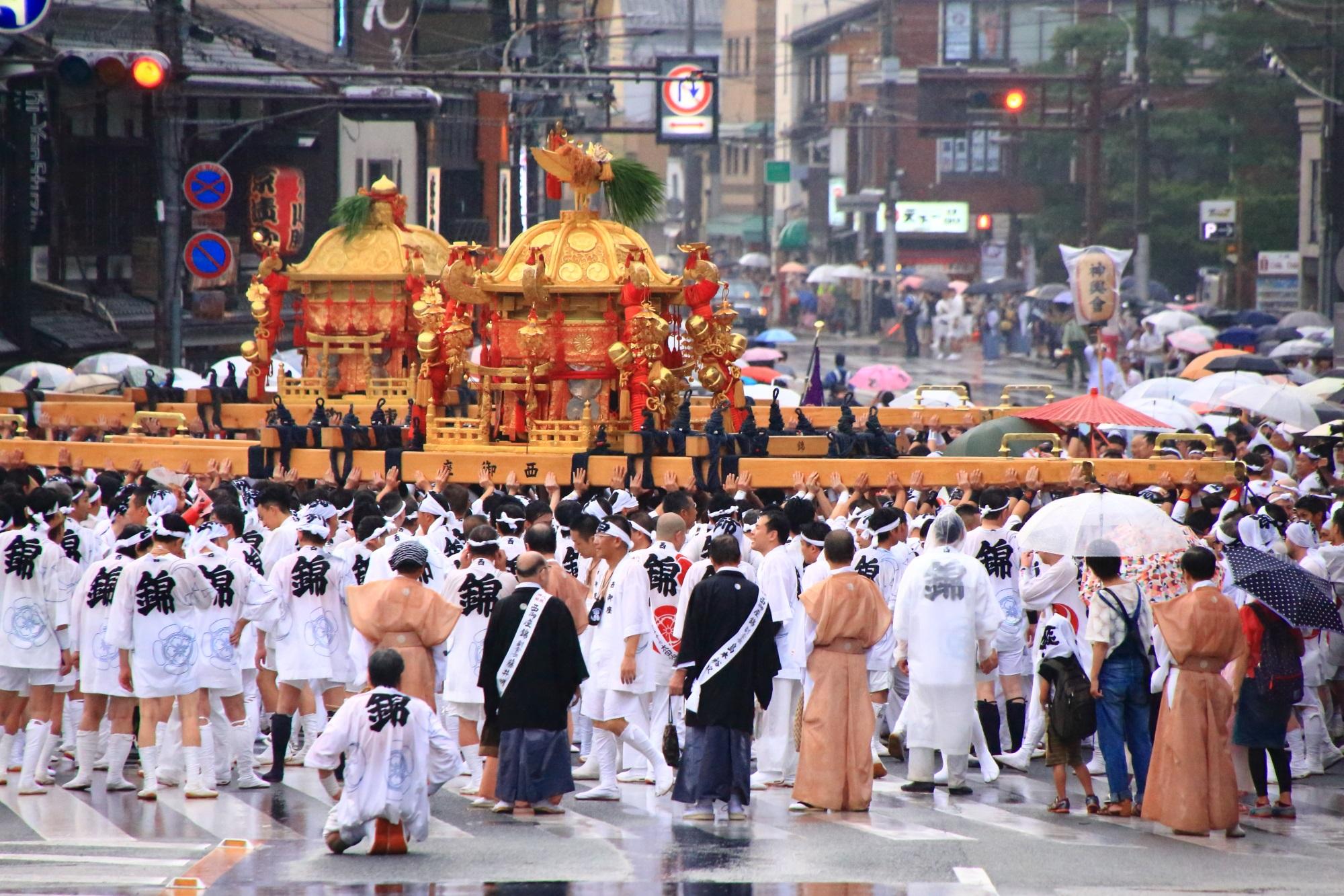 神輿渡御 祇園祭 日本三大祭 夏