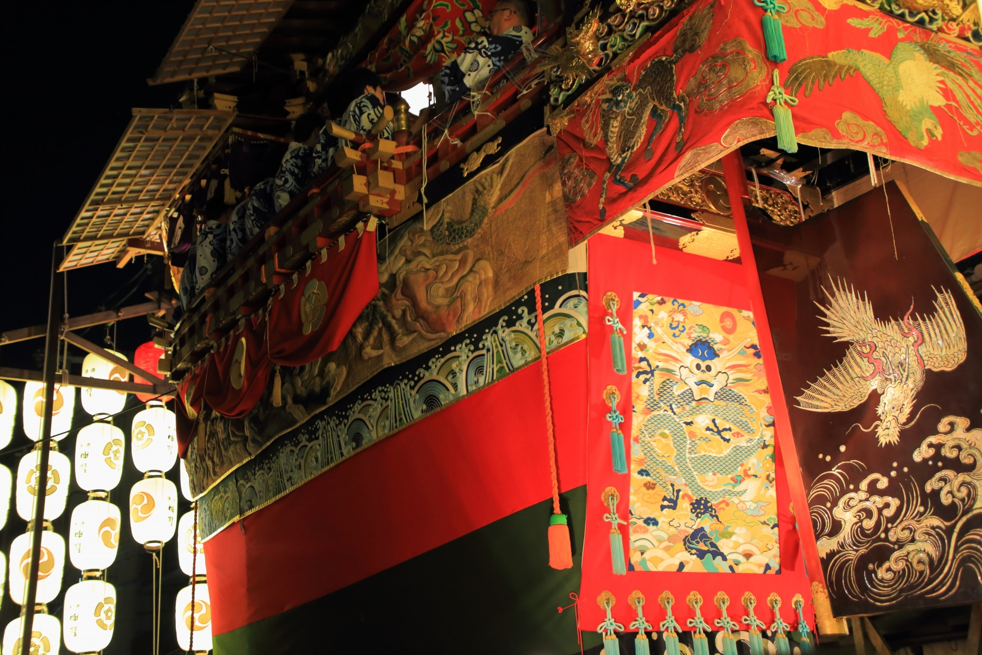 祇園祭 宵山 船鉾 動く美術館