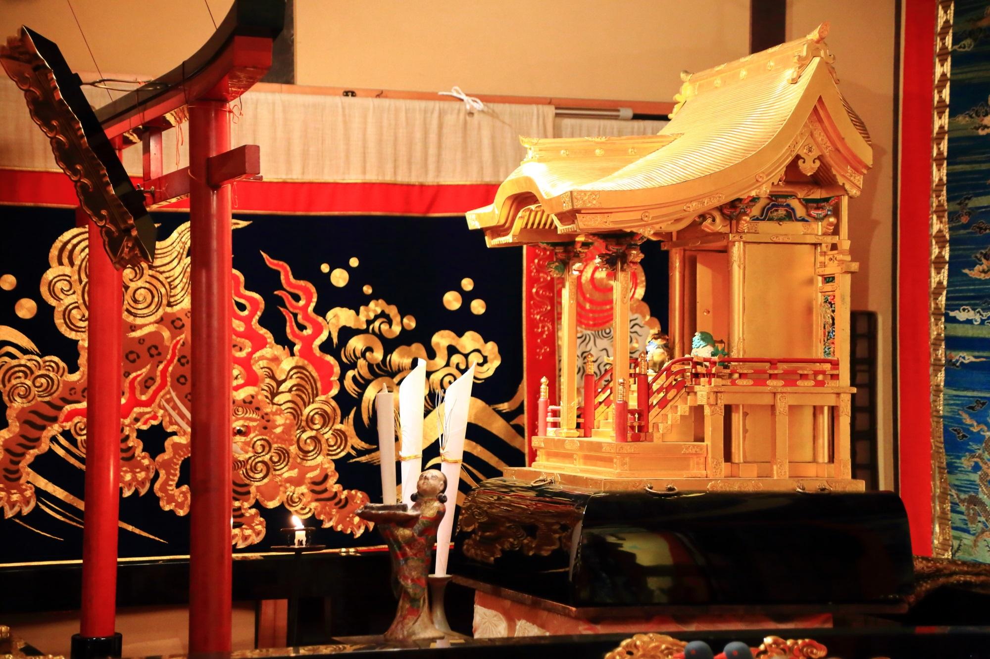 祇園祭後祭の八幡山