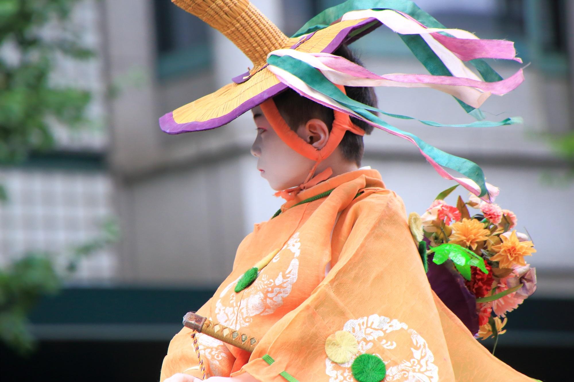 馬長稚児 花傘巡行 祇園祭