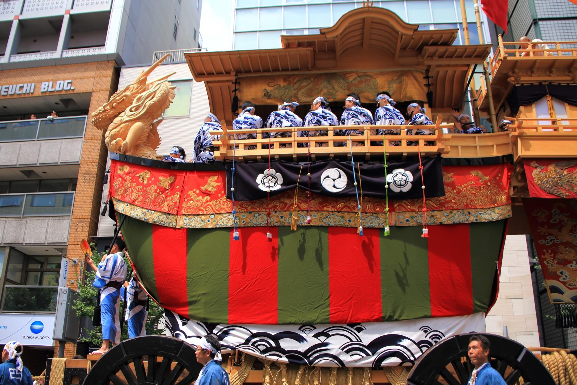大船鉾 写真 高画質 祇園祭 山鉾巡行 後祭