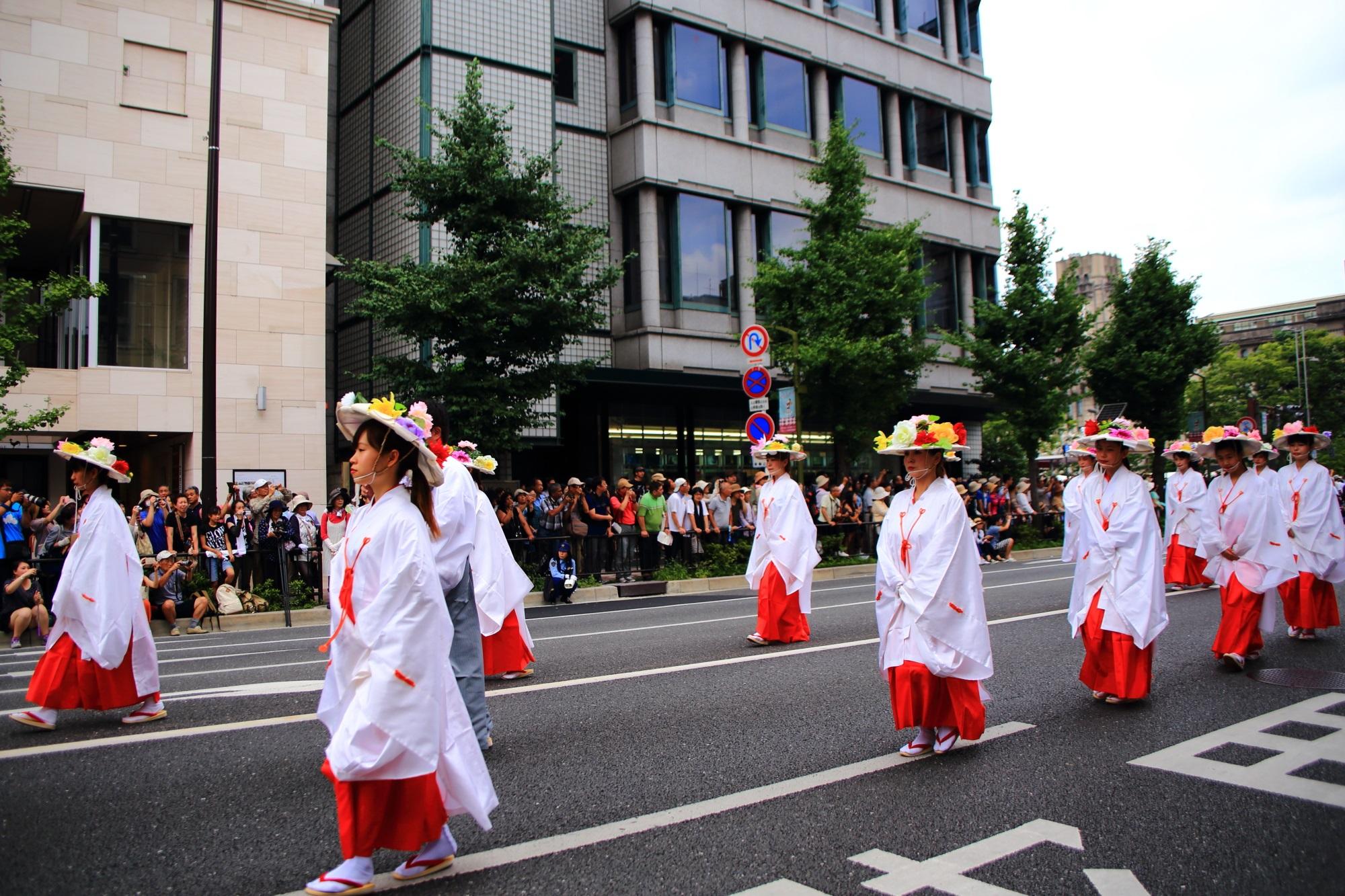 高画質 花傘巡行 写真 祇園祭