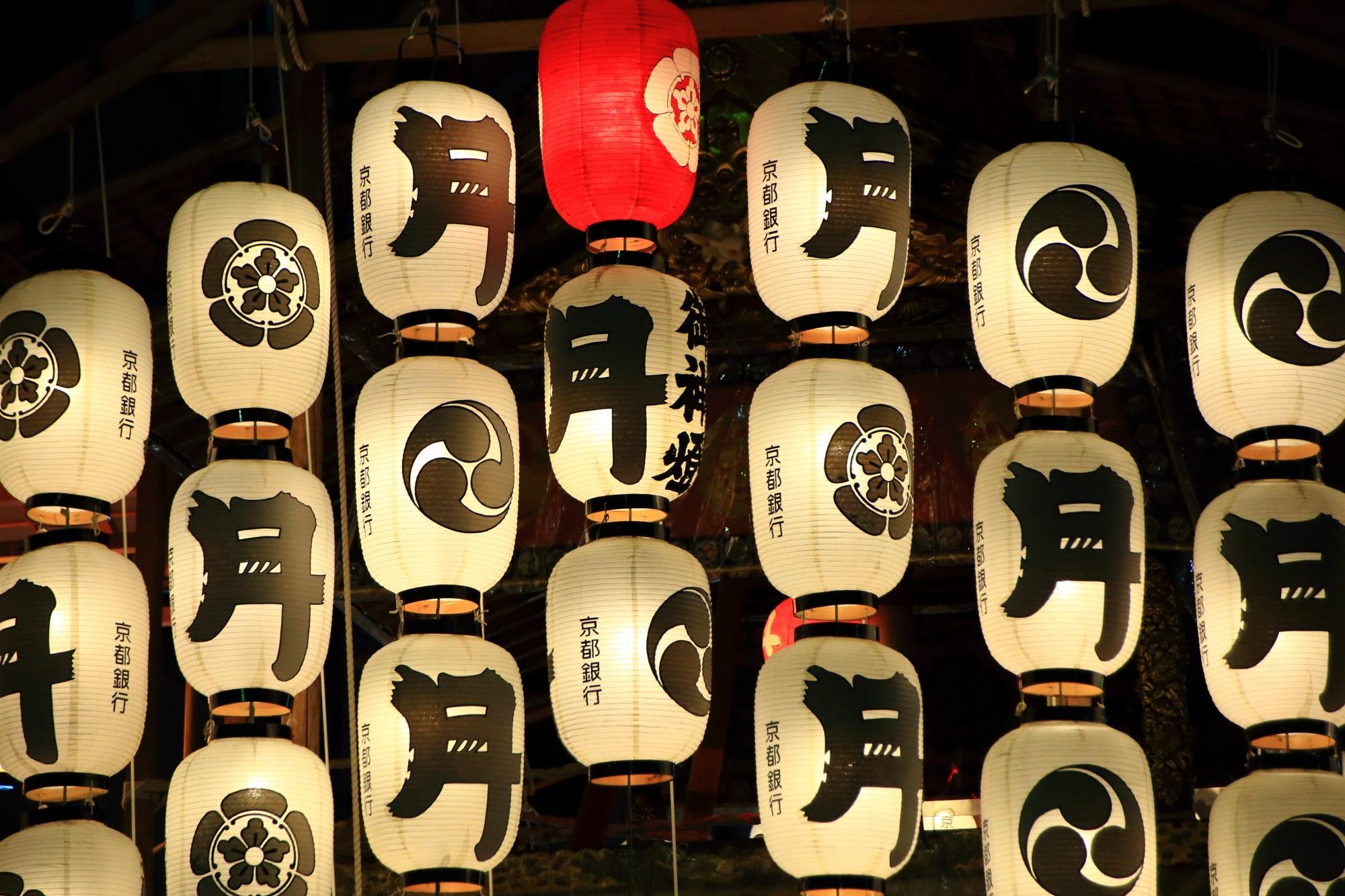 宵山 駒形提灯 祇園祭 月鉾 風情