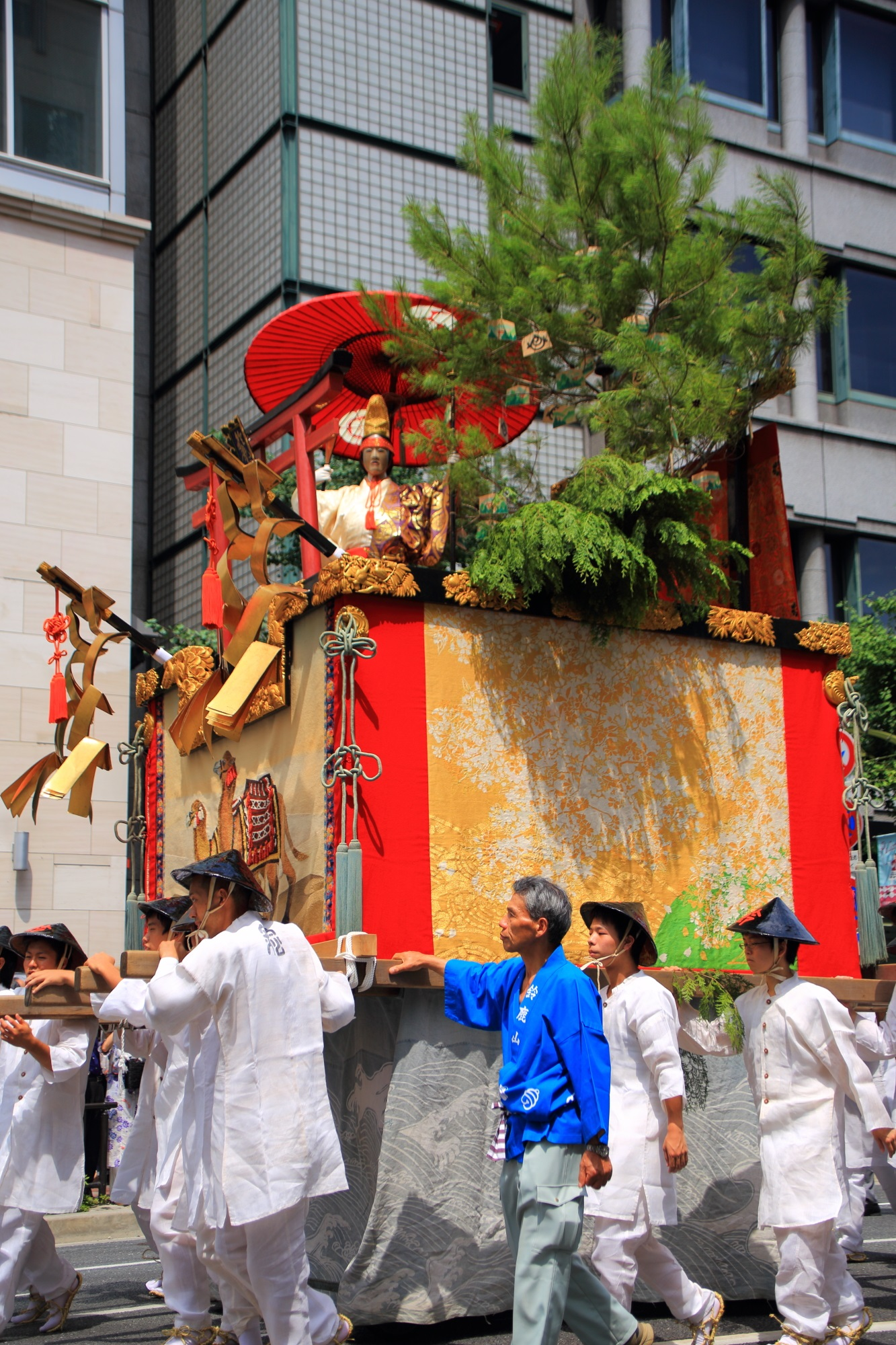 Yama-Hoko-Jyunko Kyoto Gion-Matsuri Suzuka-Yama