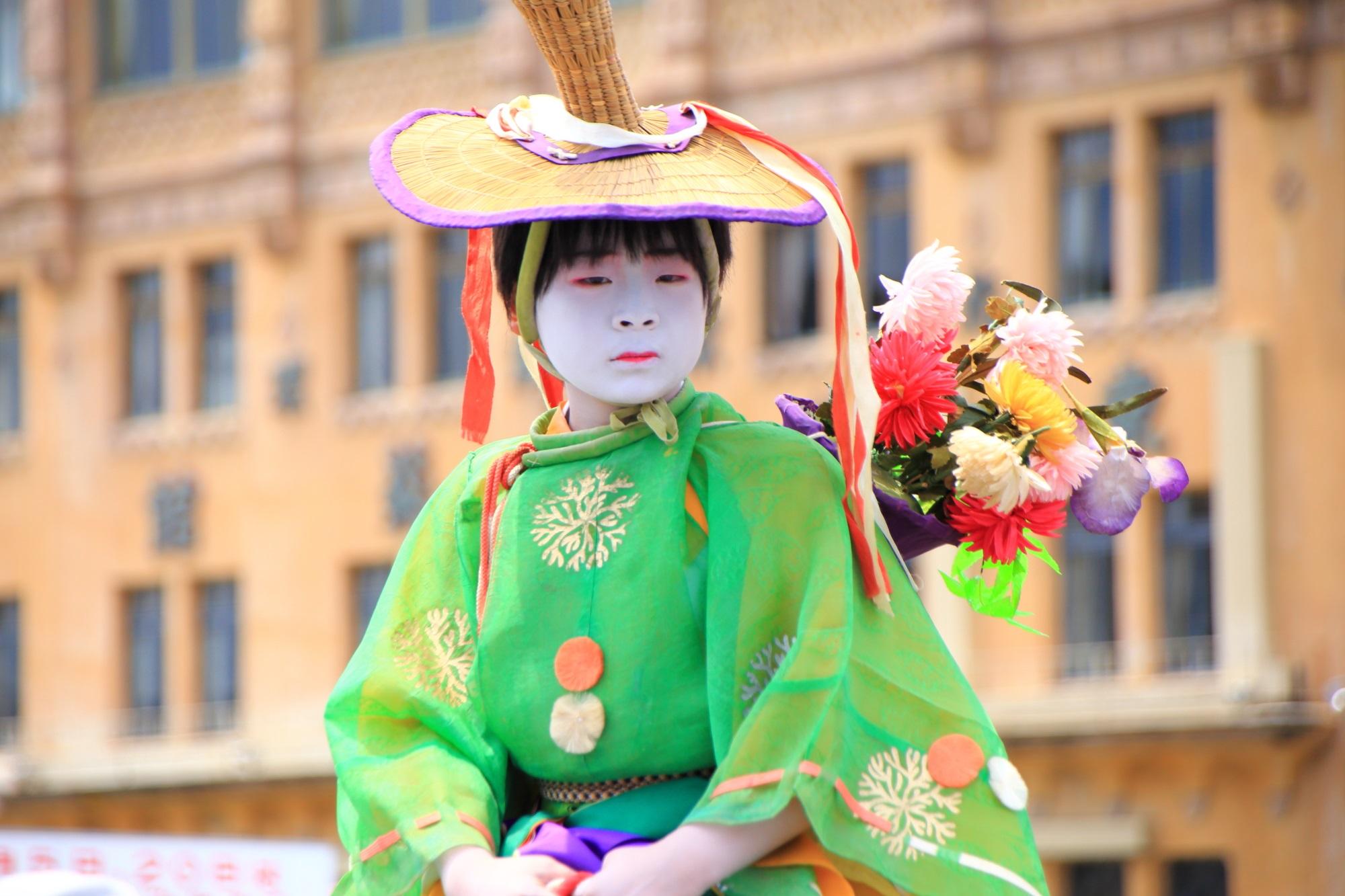 馬長 花傘巡行 祇園祭