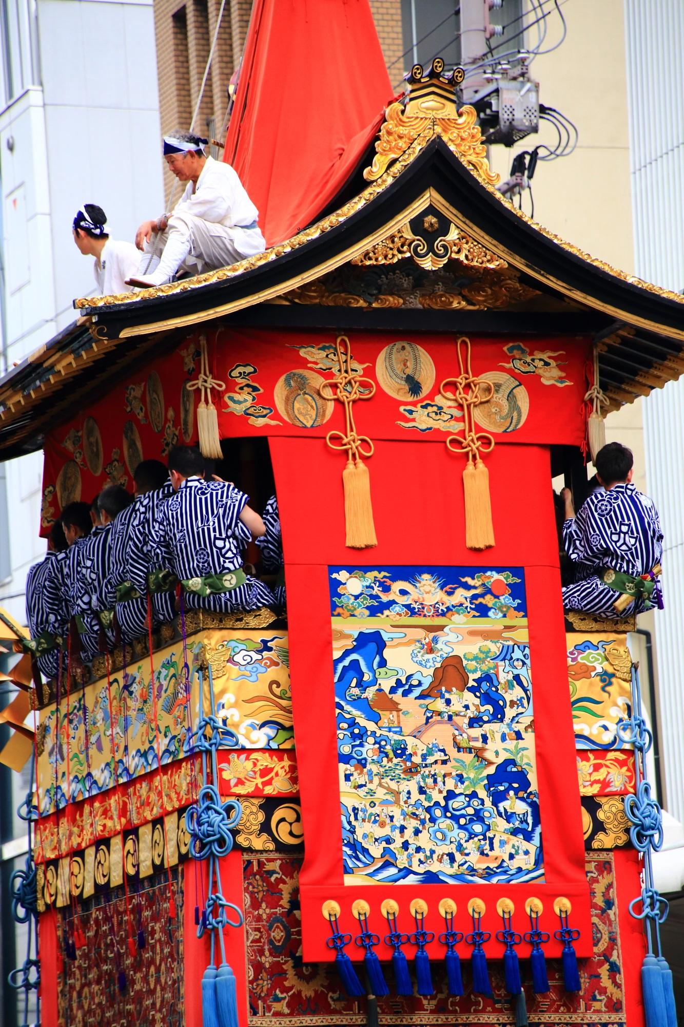 岩戸山 見送り 祇園祭 山鉾巡行