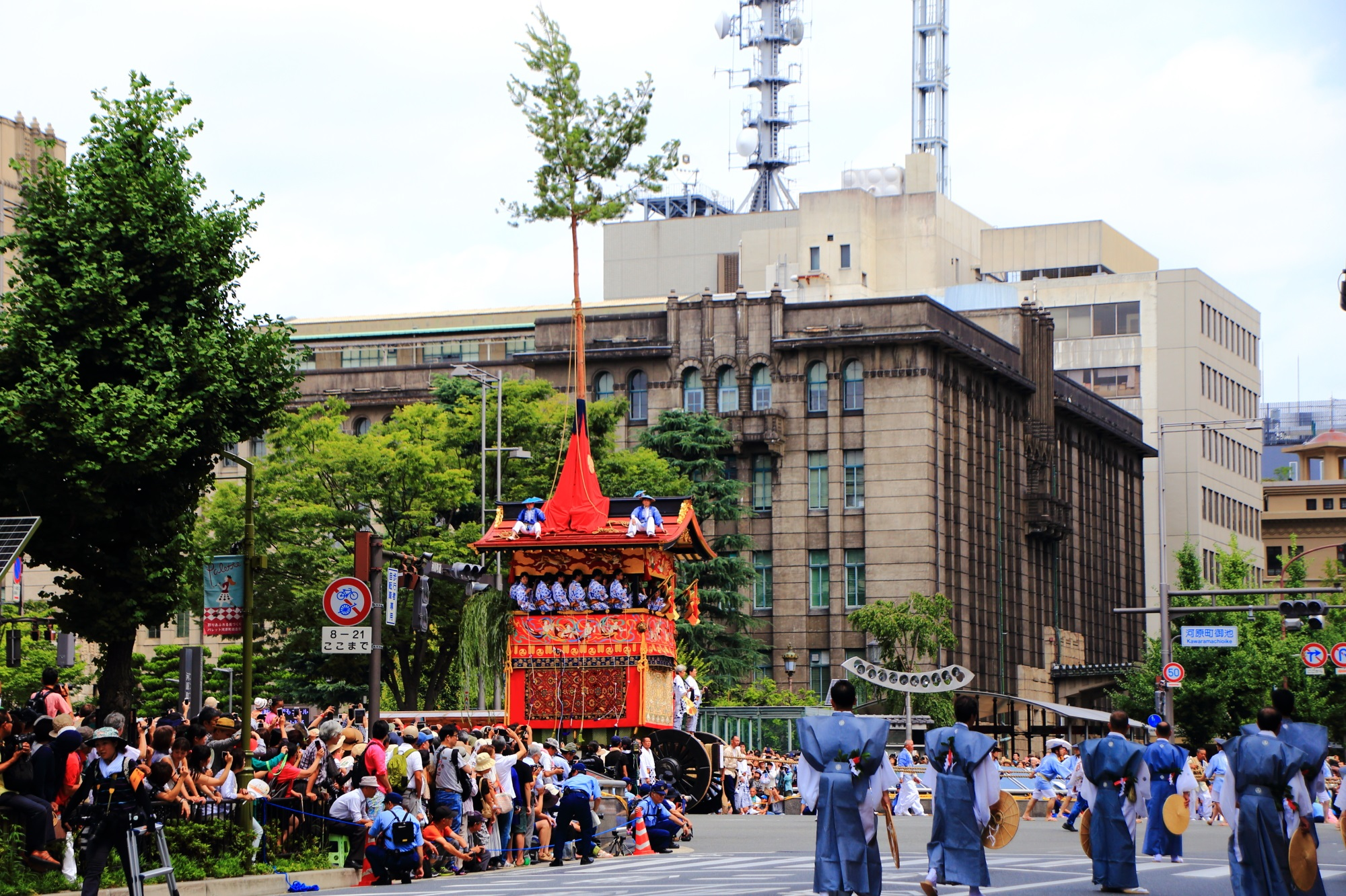 南観音山 山鉾巡行 祇園祭 後祭