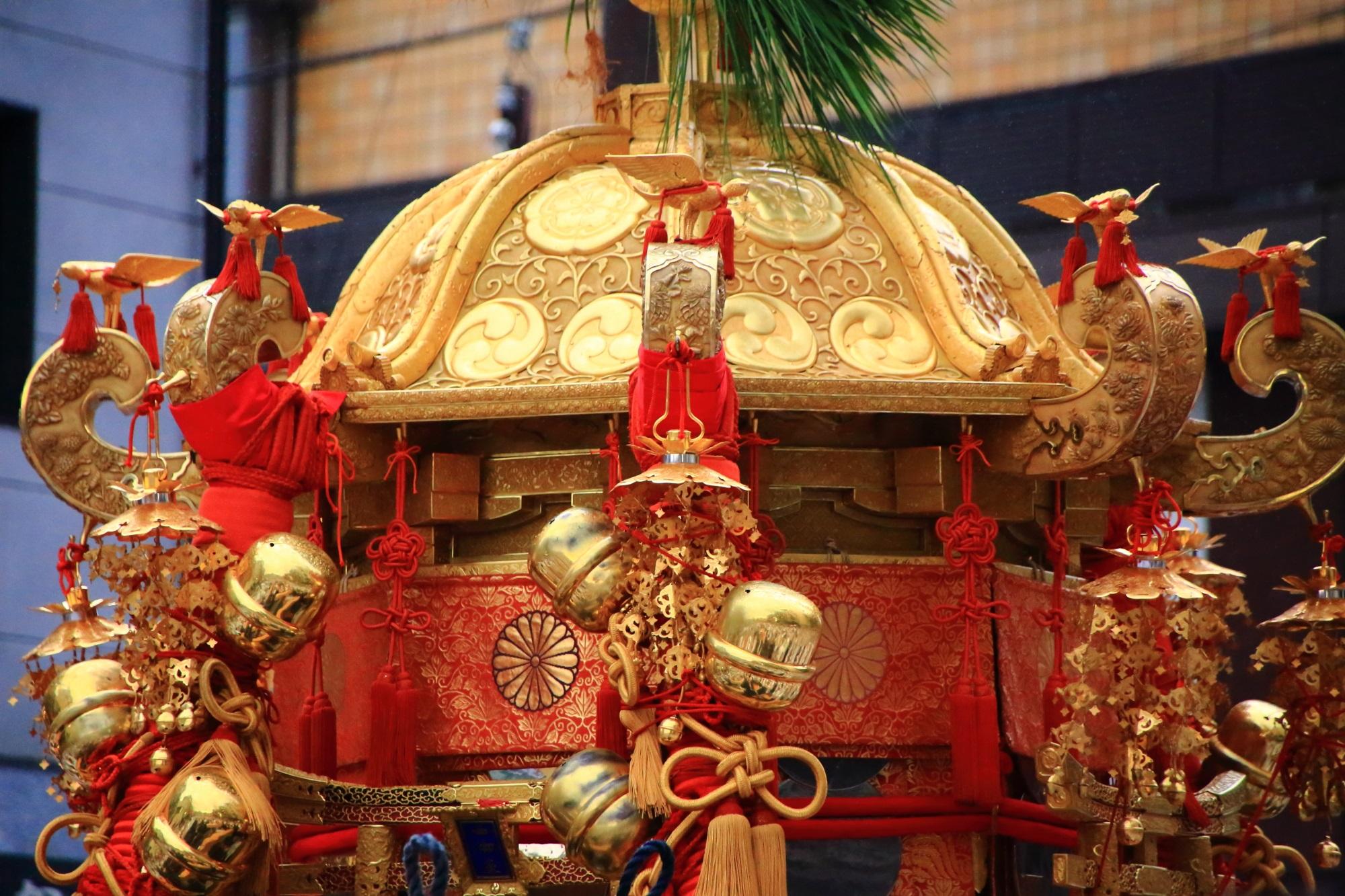 高画質 神輿 写真 祇園祭 神幸祭