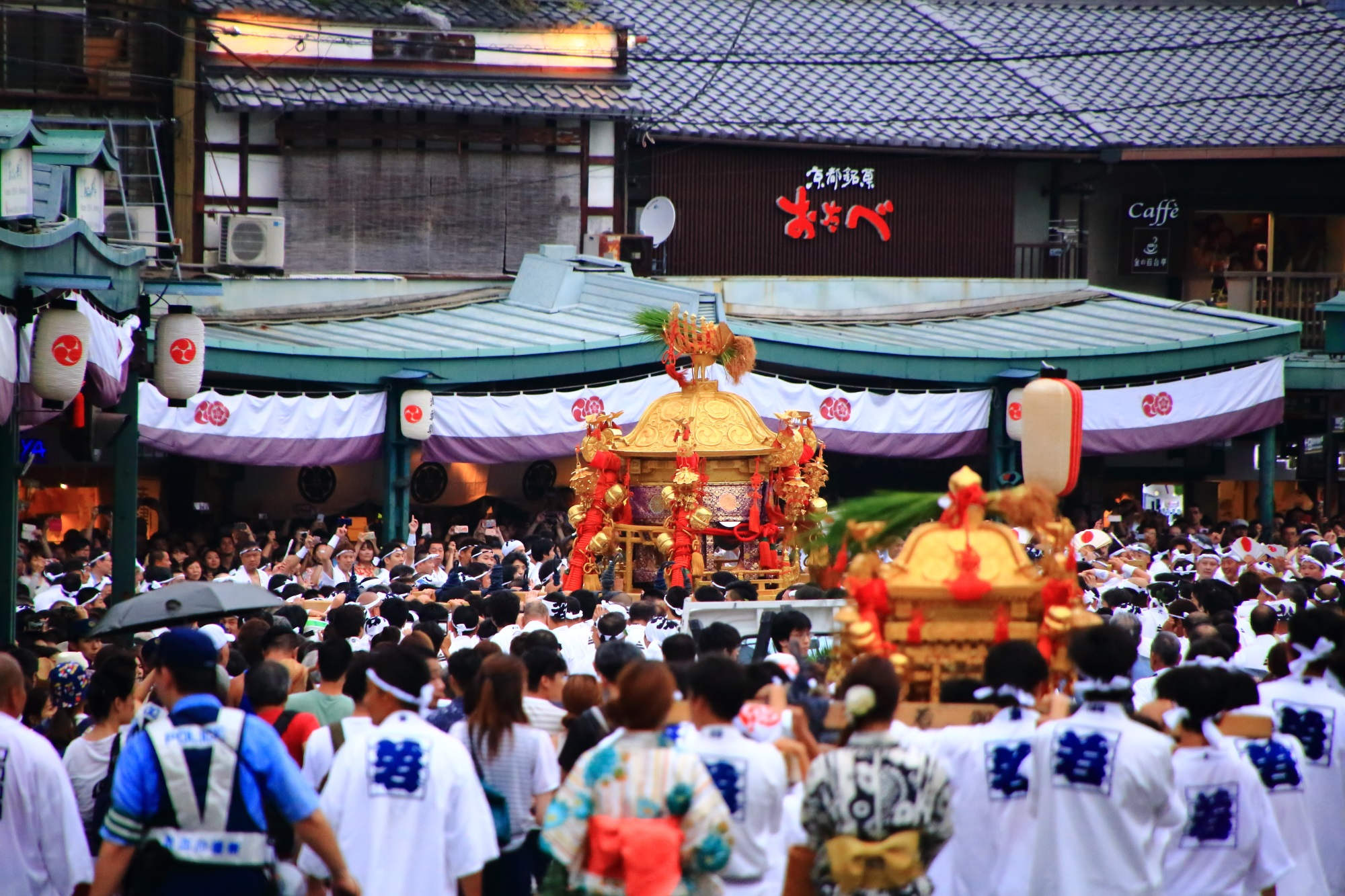神幸祭 祇園祭 夏の風物詩