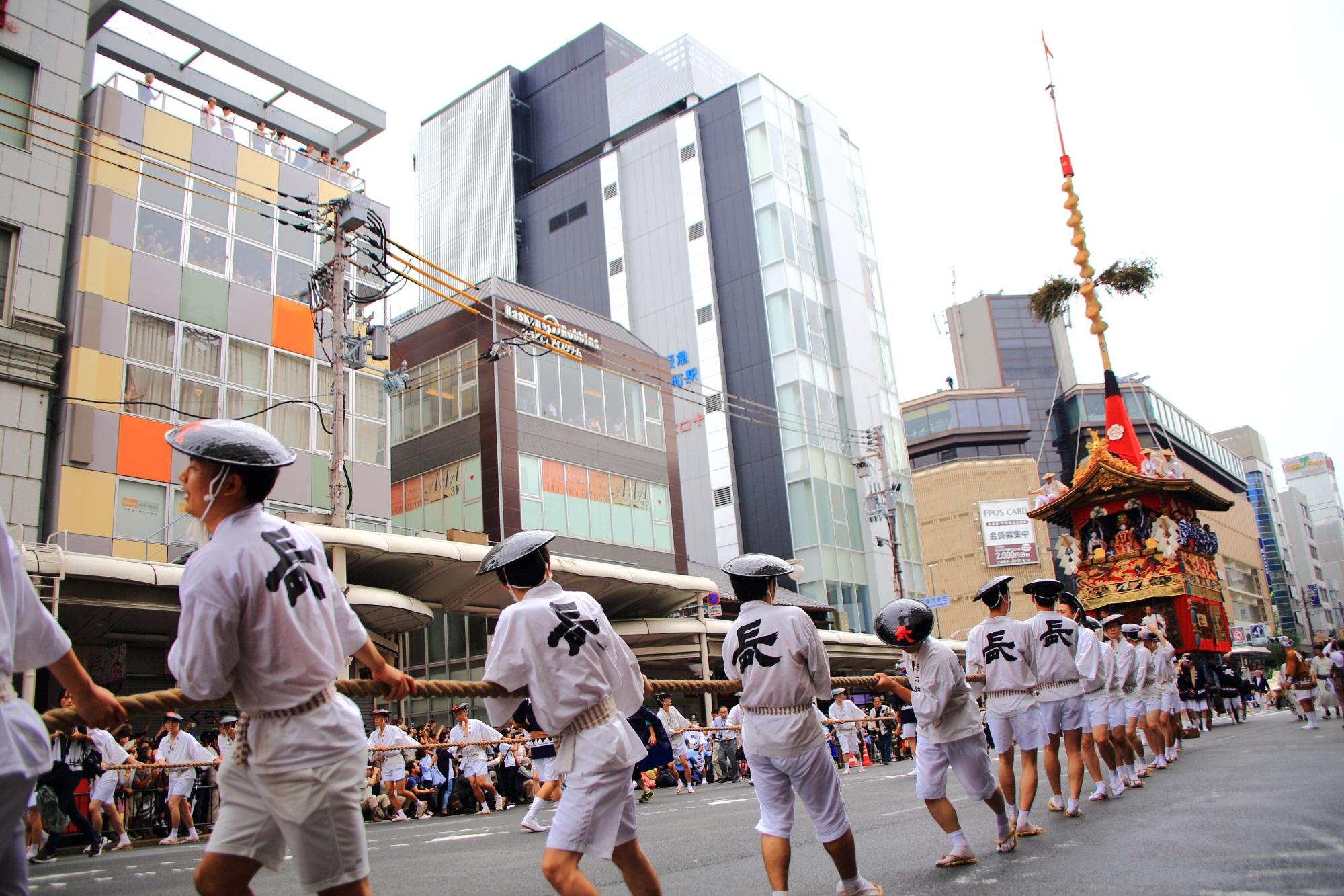 長刀鉾 山鉾巡行 前祭 祇園祭