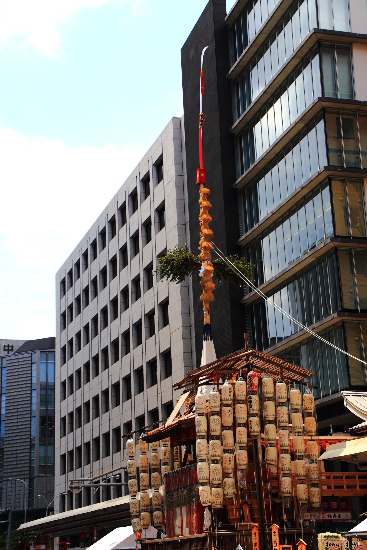 祇園祭の人気の長刀鉾
