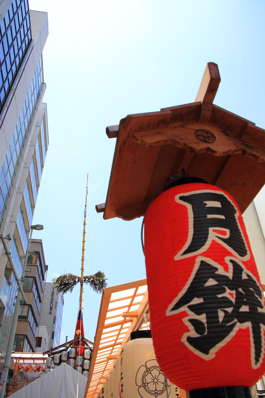 祇園祭の大きな月鉾