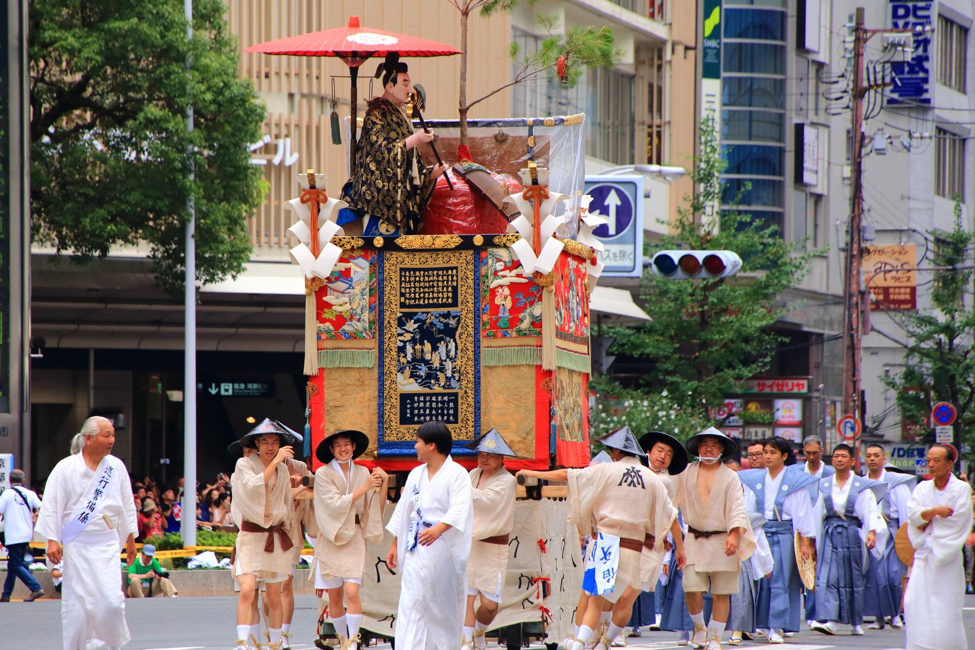 伯牙山 祇園祭 山鉾巡行 前祭 日本三大祭