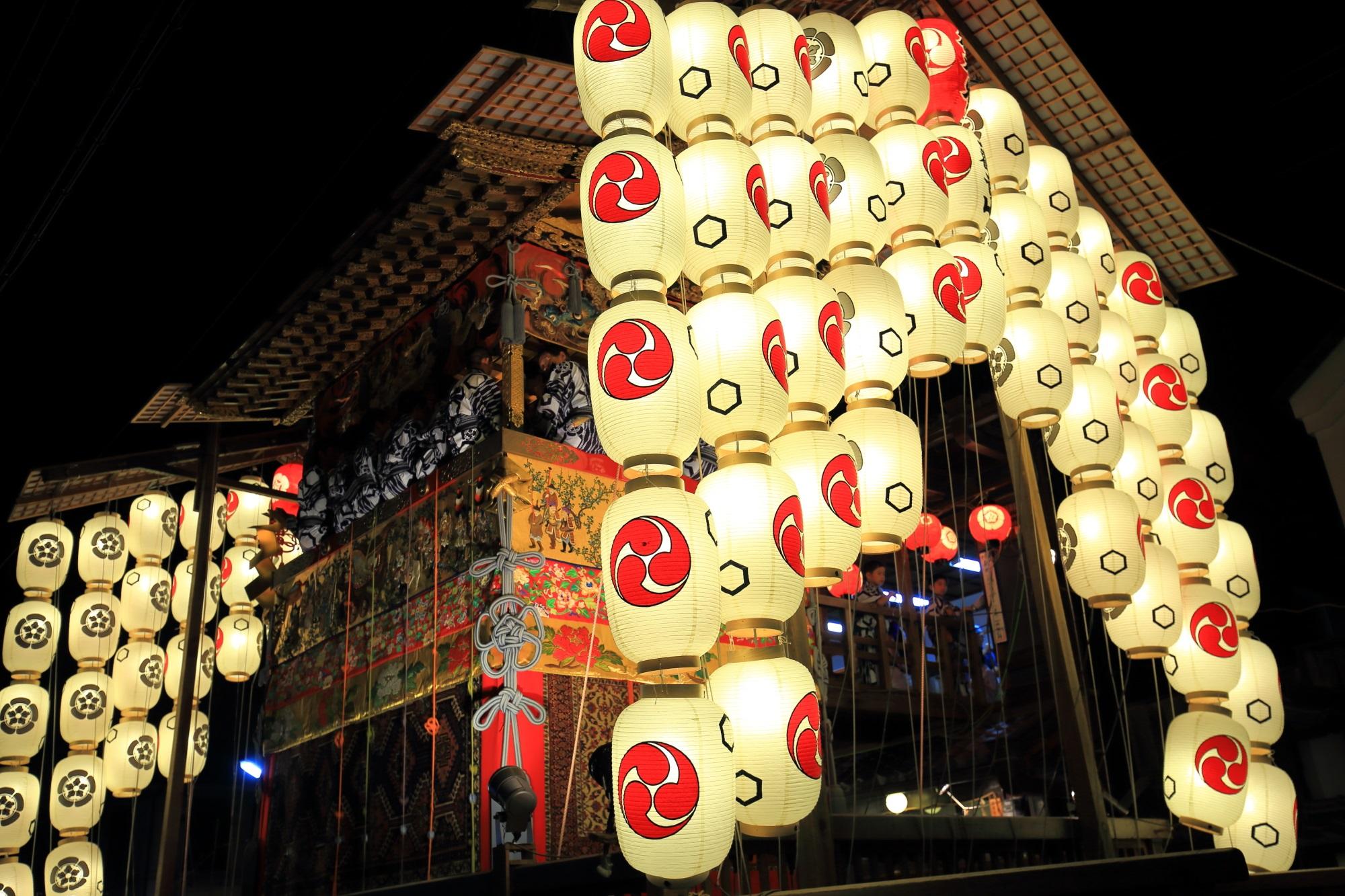 Yoi-Yama Gion-Festival Kyoto Kita-Kannon-Yama