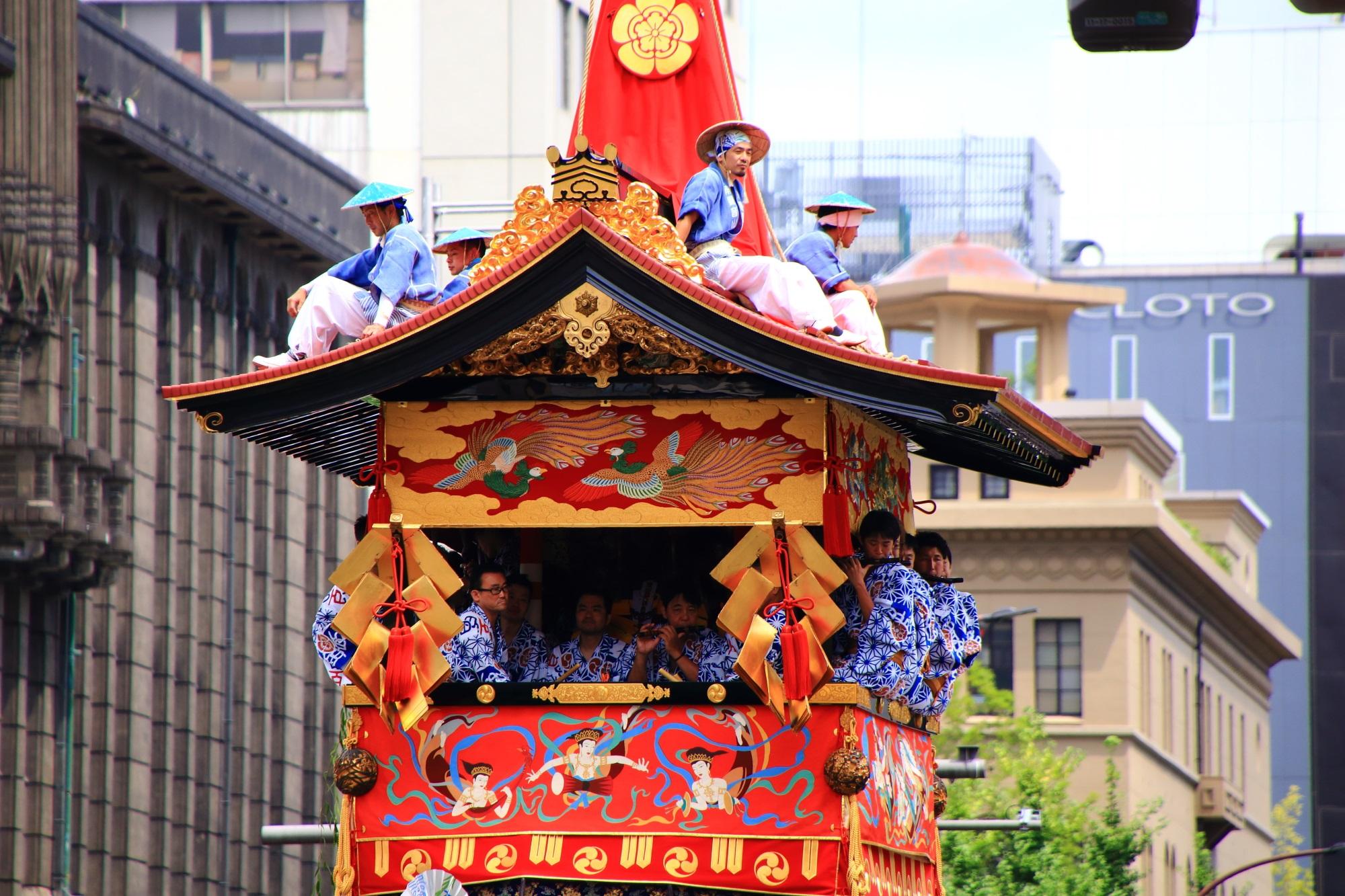 写真 高画質 山鉾巡行 祇園祭 後祭 南観音山