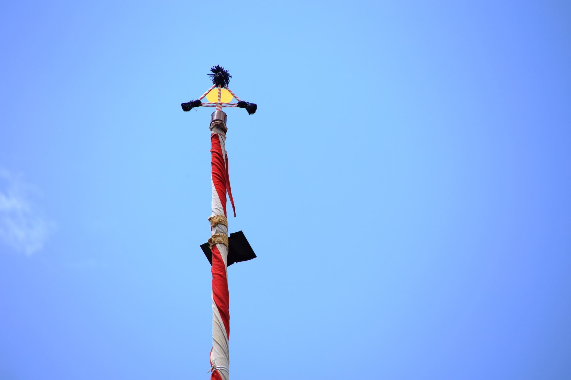 高画質 写真 鉾頭 祇園祭 鶏鉾