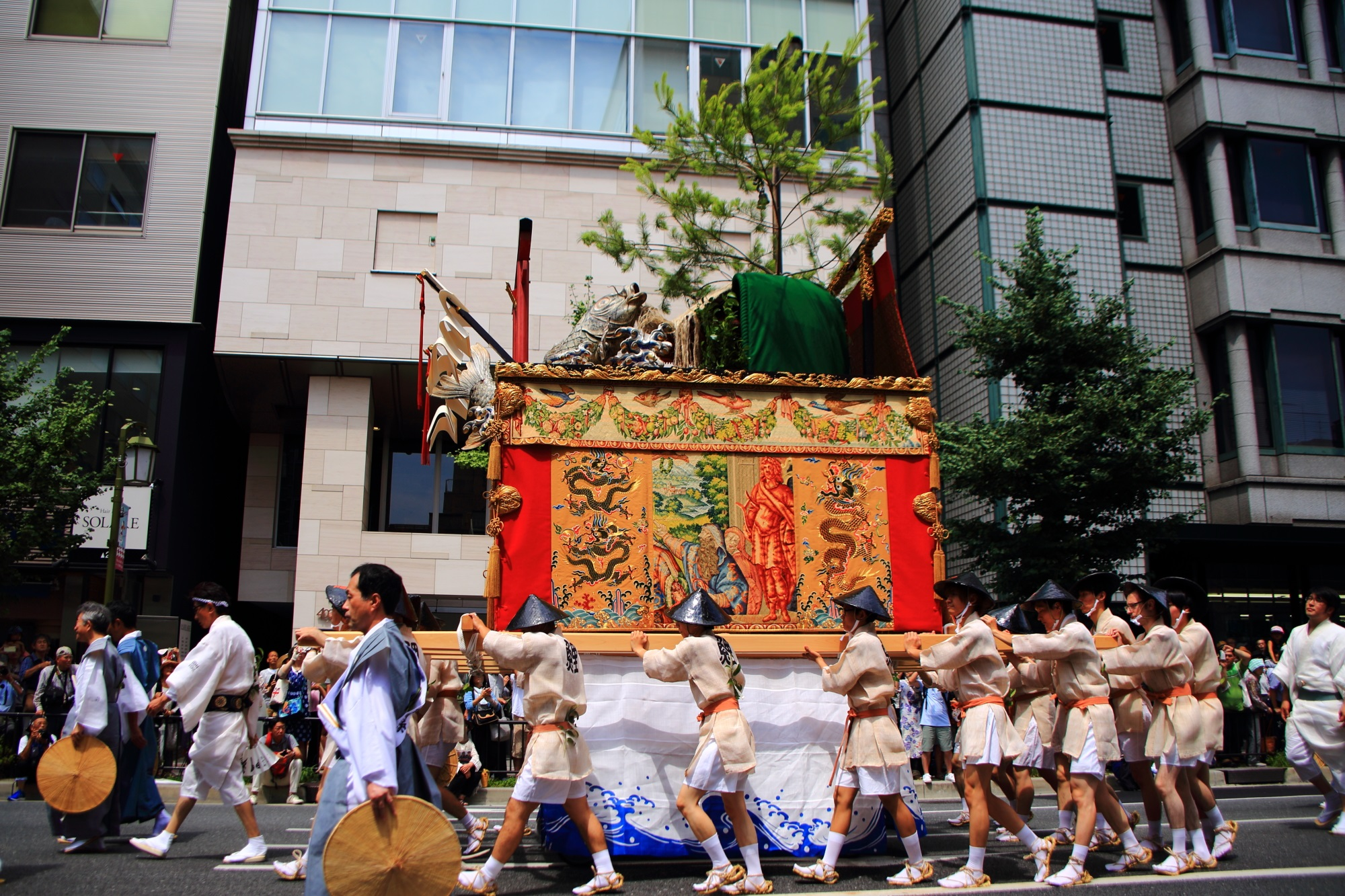 Yama-Hoko-Jyunko Kyoto Gion-Festival Koi-Yama