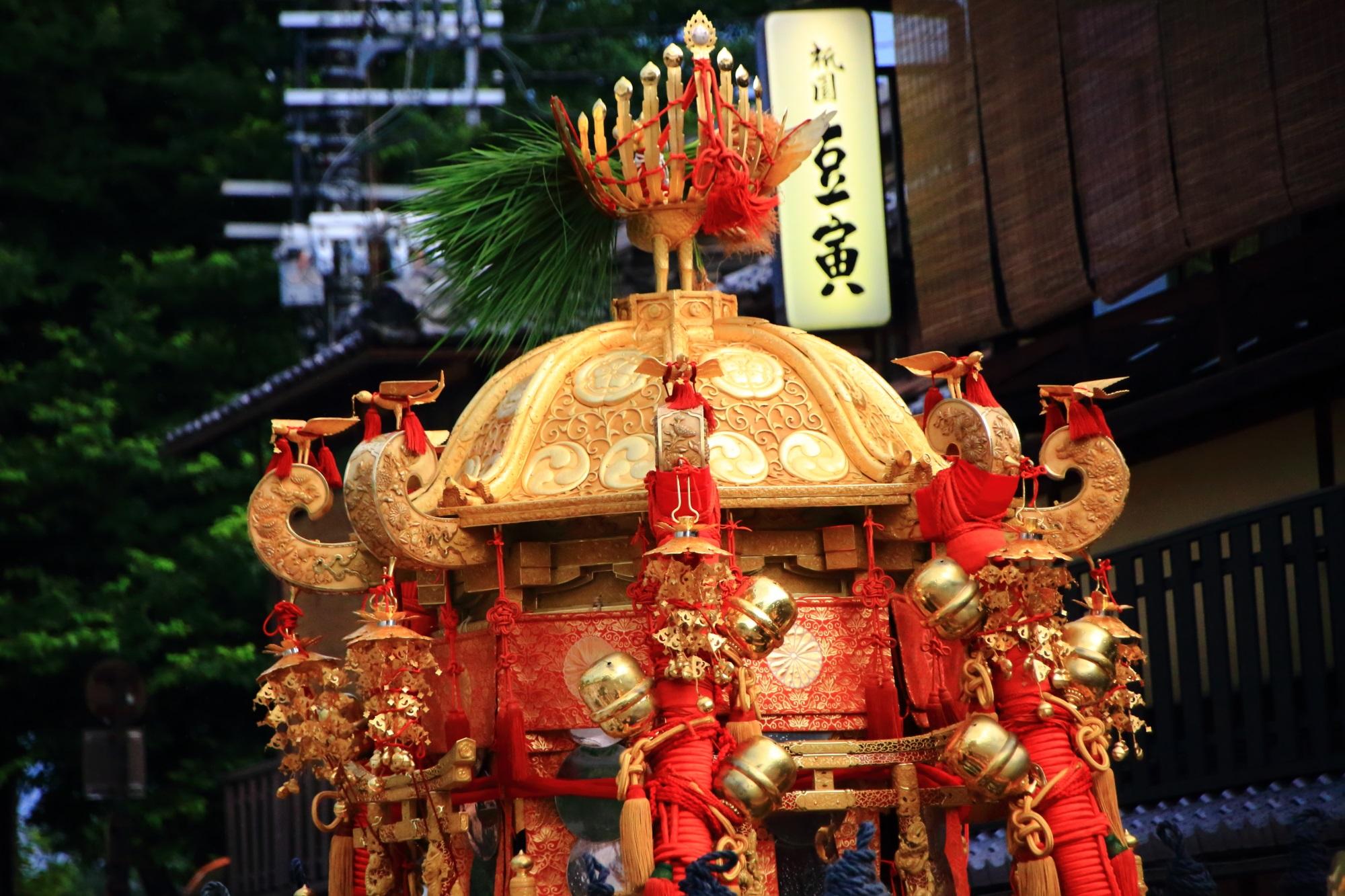 高画質 神輿渡御 写真 祇園祭