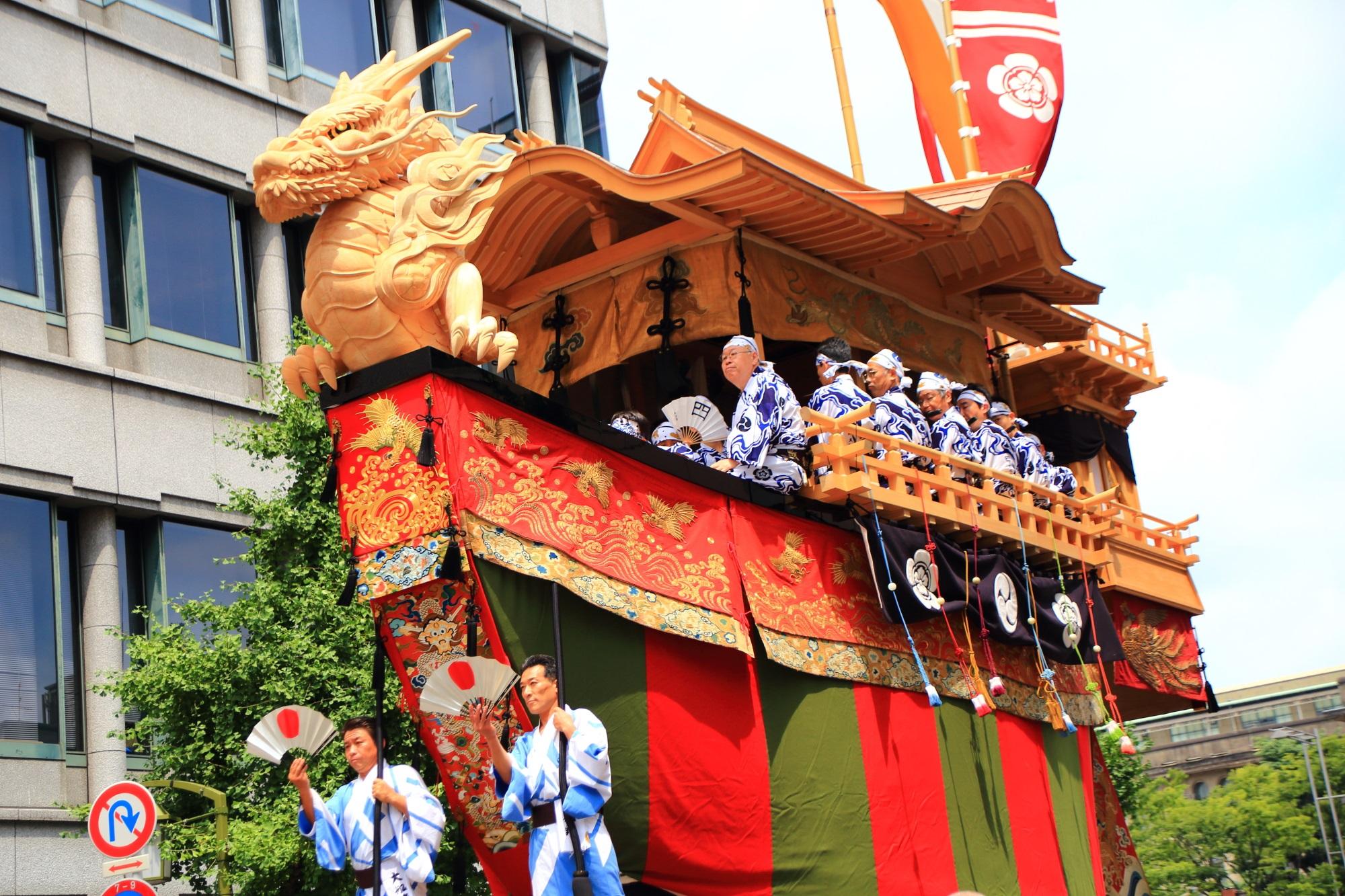 Gion-Matsuri Yama-Hoko-Jyunko Oh-fune-Hoko Kyoto