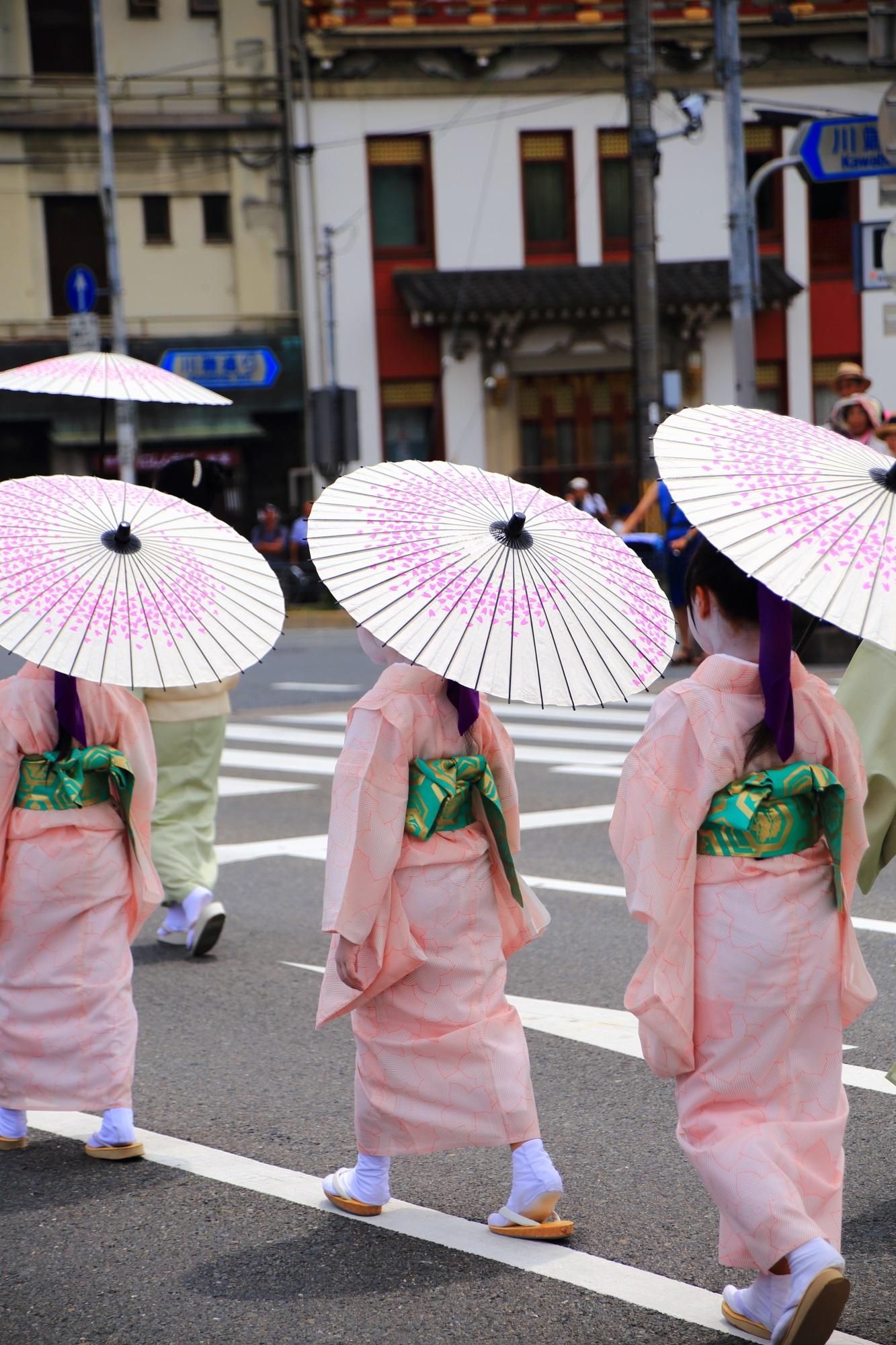 Gion-Matsuri Hanagasa-Jyunko Kyoto