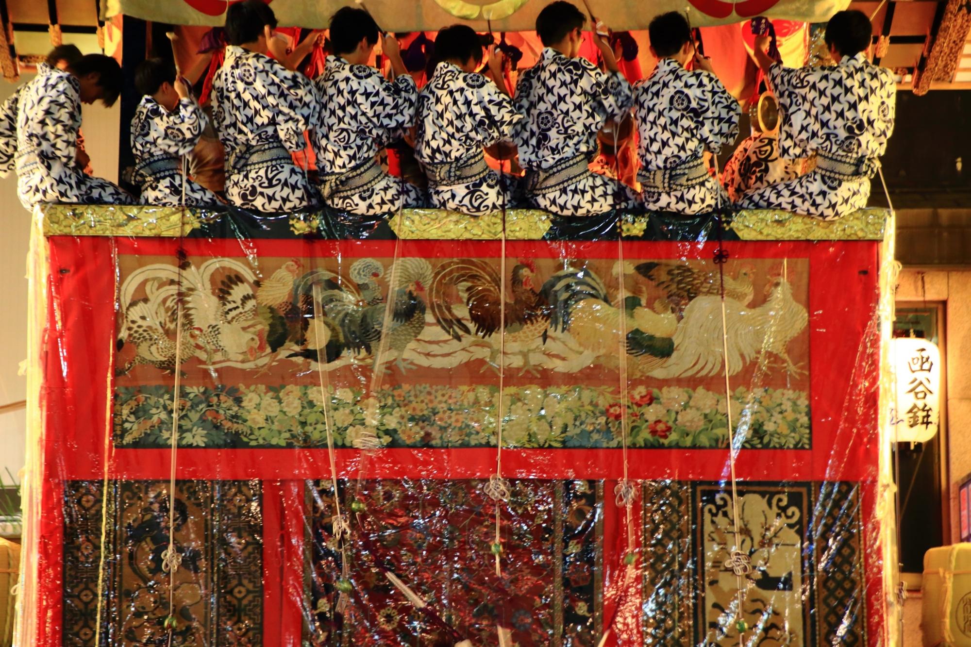 高画質 宵山 祇園祭 写真 函谷鉾
