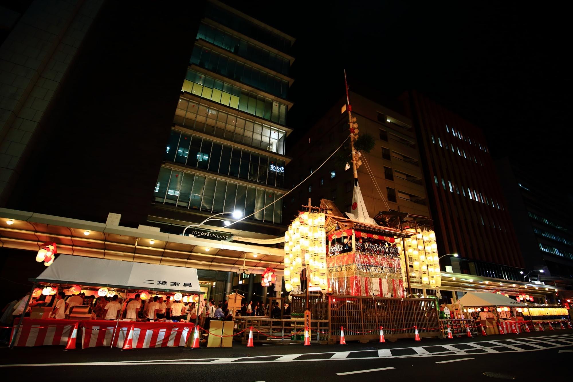長刀鉾 宵山 祇園祭 京都 夏 日本三大祭