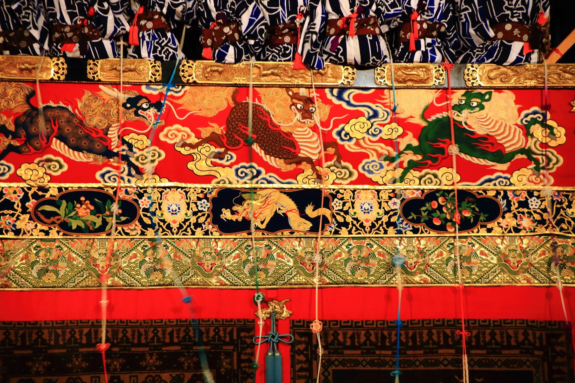 高画質 宵山 祇園祭 写真 長刀鉾