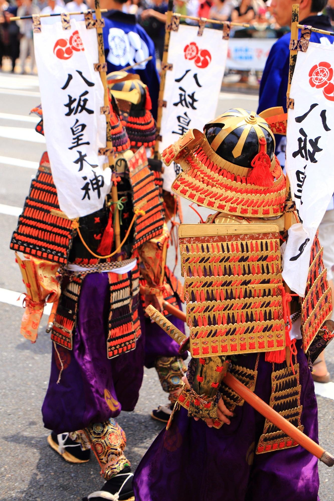 児武者 花傘巡行 祇園祭 日本三大祭