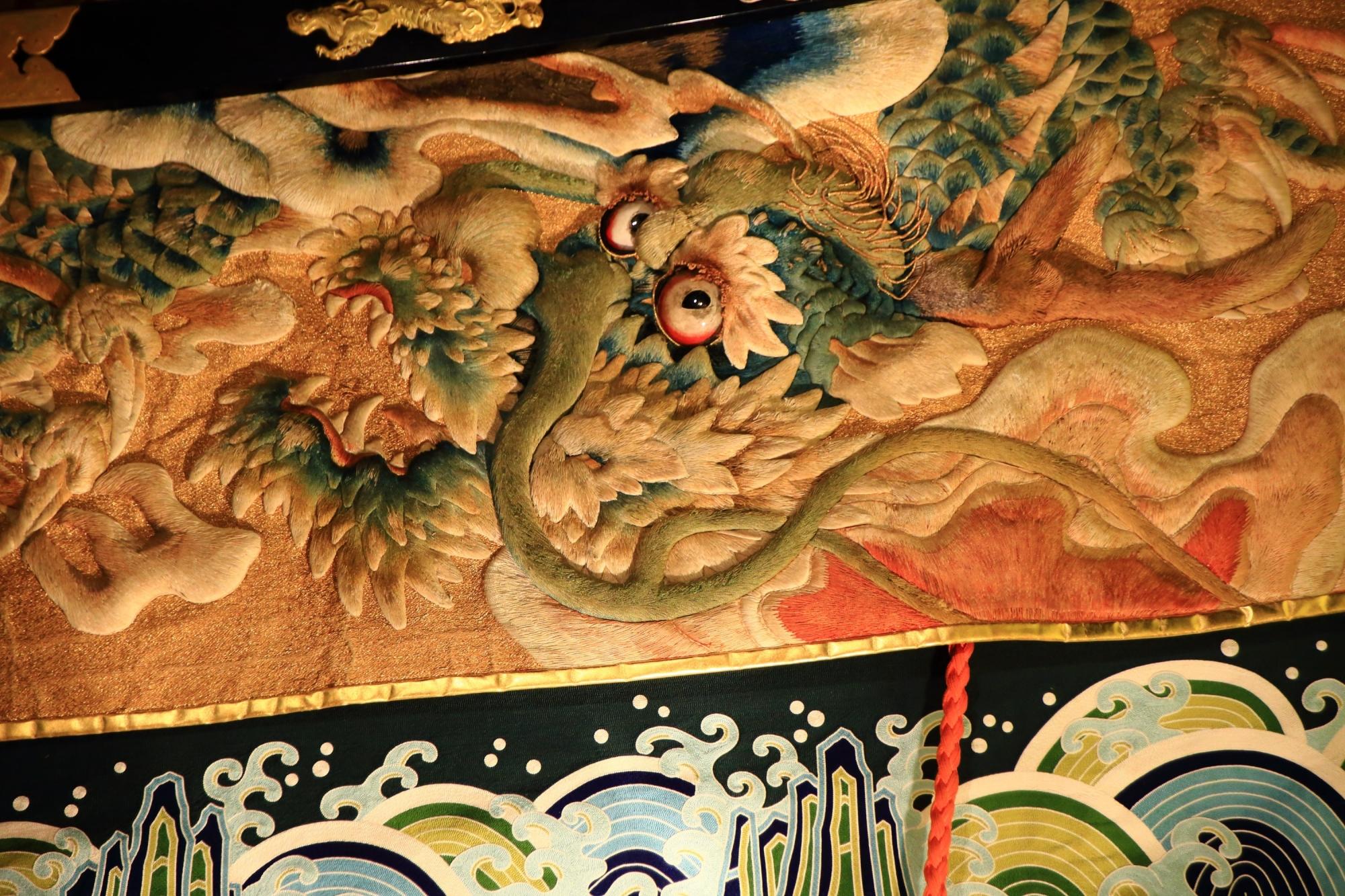 祇園祭の宵山の綺麗な船鉾