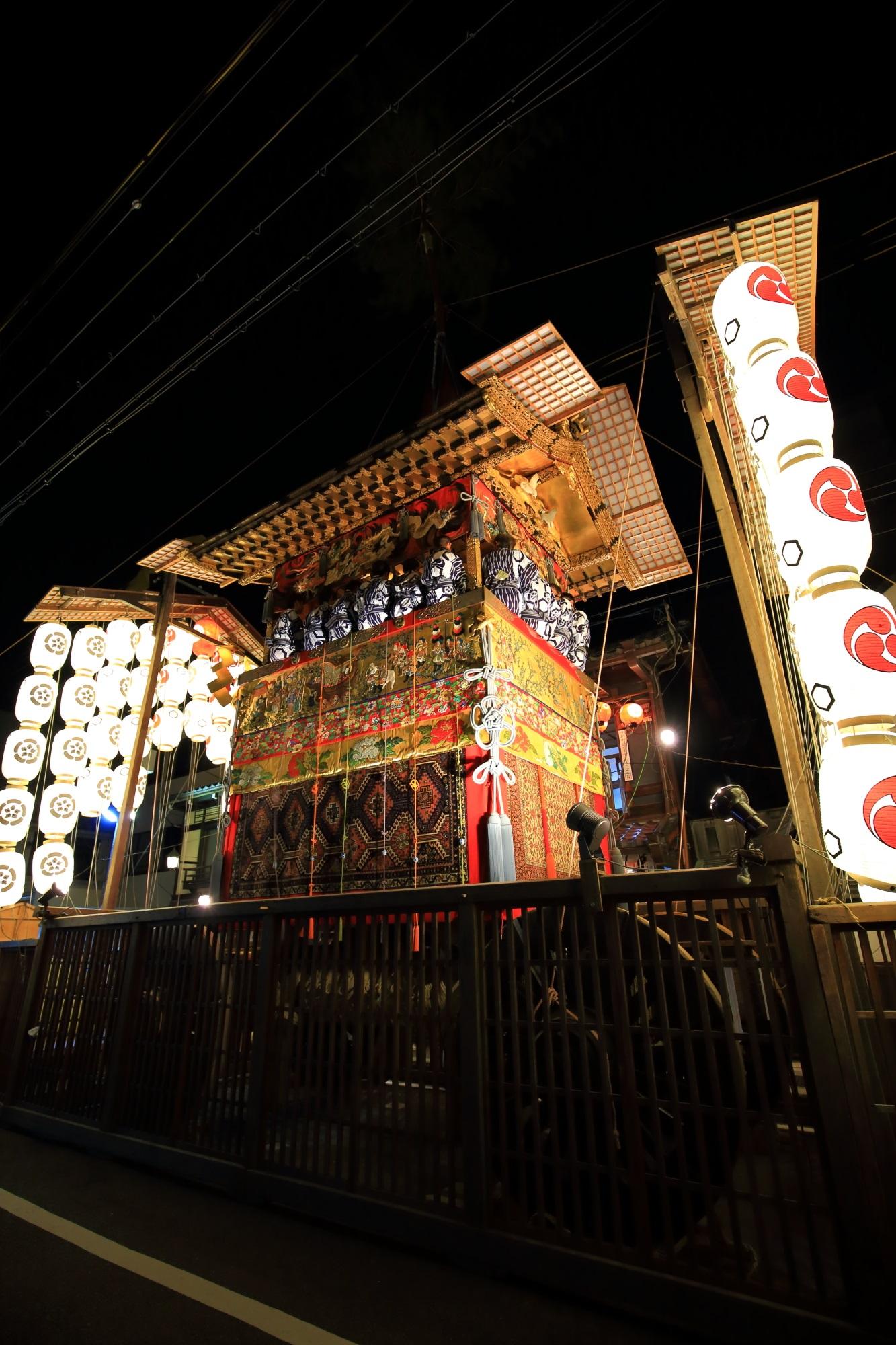 北観音山 宵山 祇園祭後祭 日本三大祭
